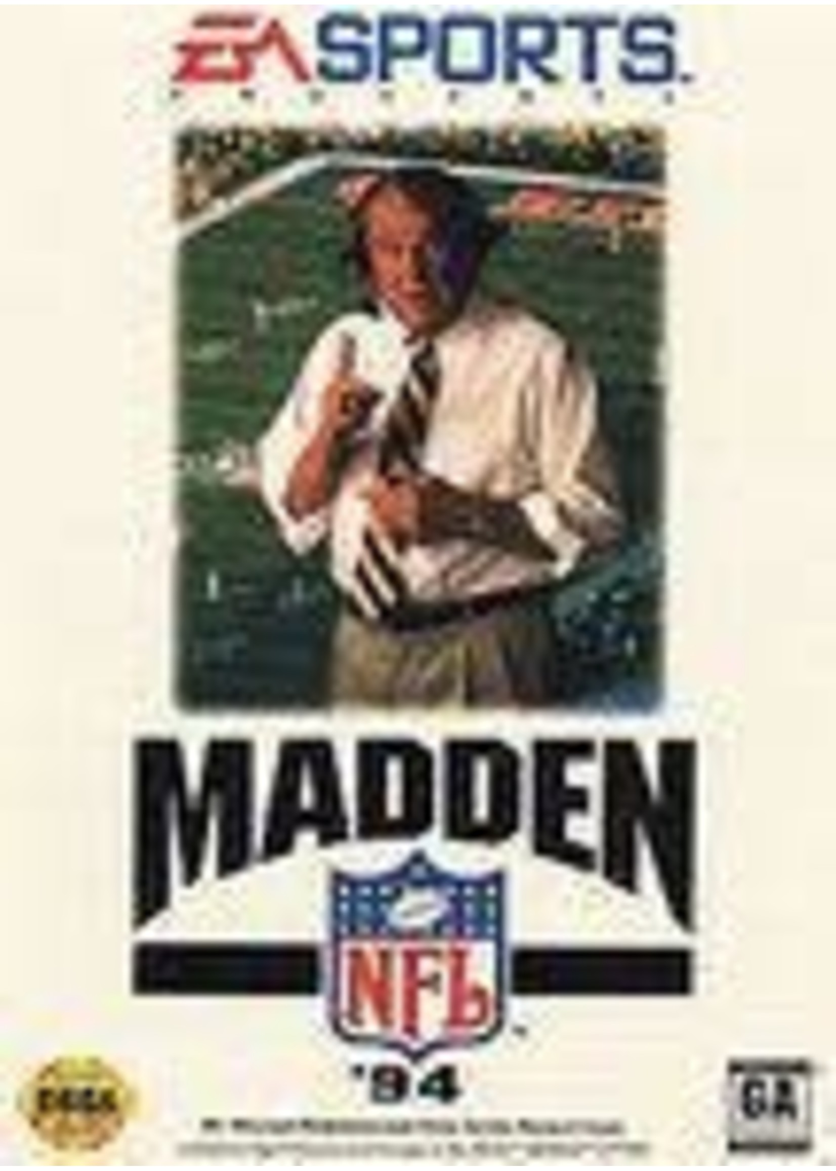 Madden NFL '94 Sega Genesis