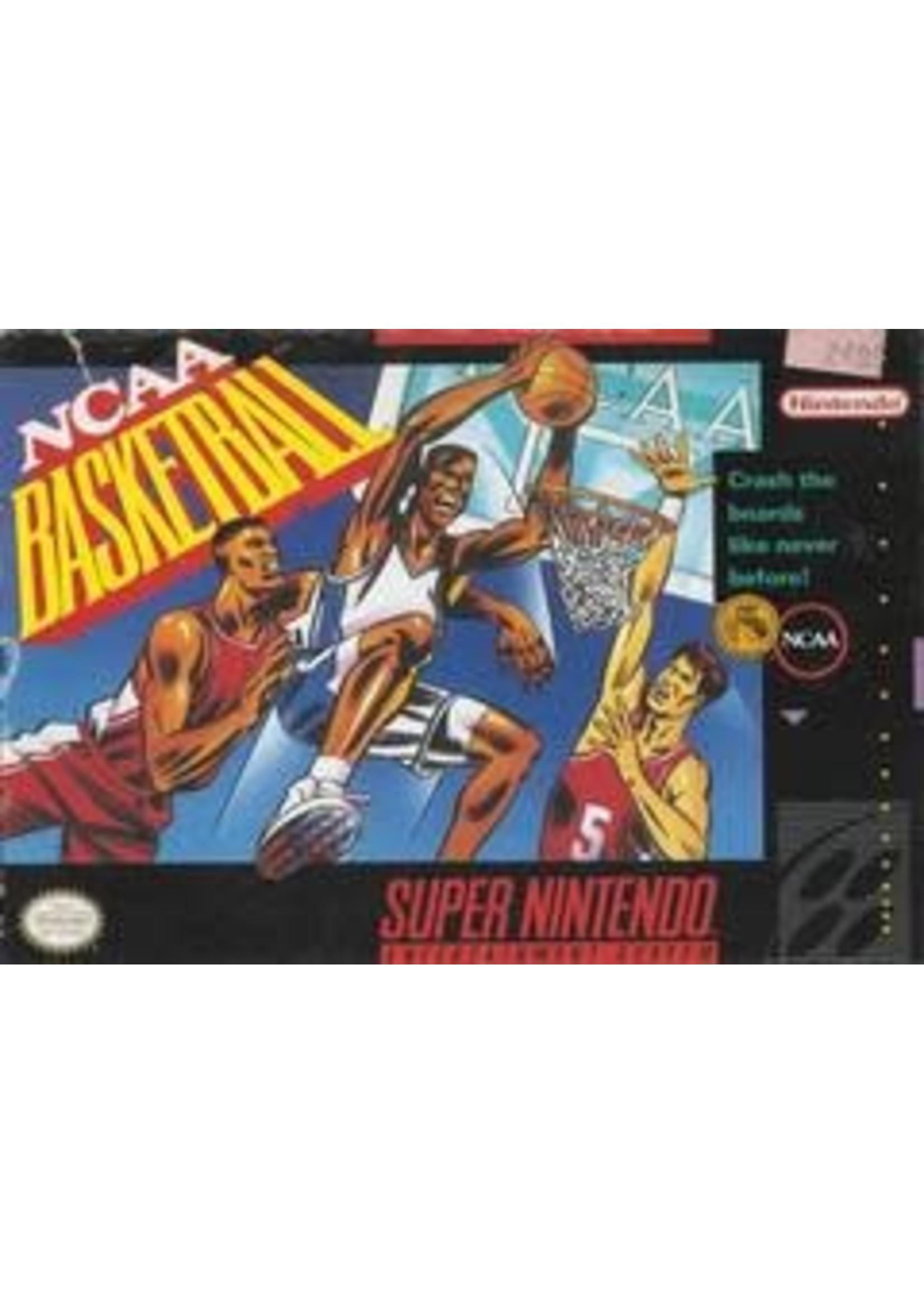NCAA Basketball Super Nintendo