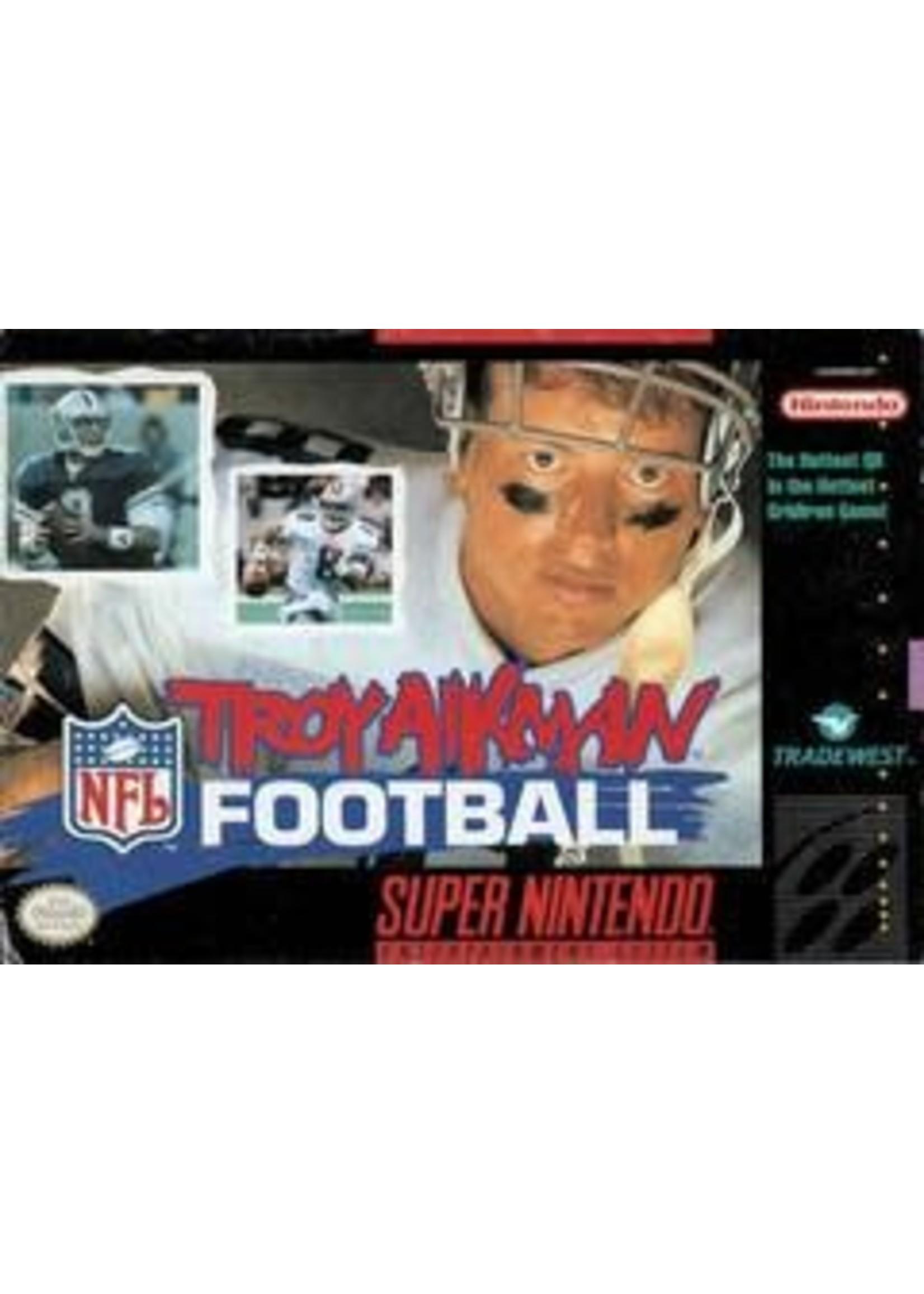 Troy Aikman NFL Football Super Nintendo