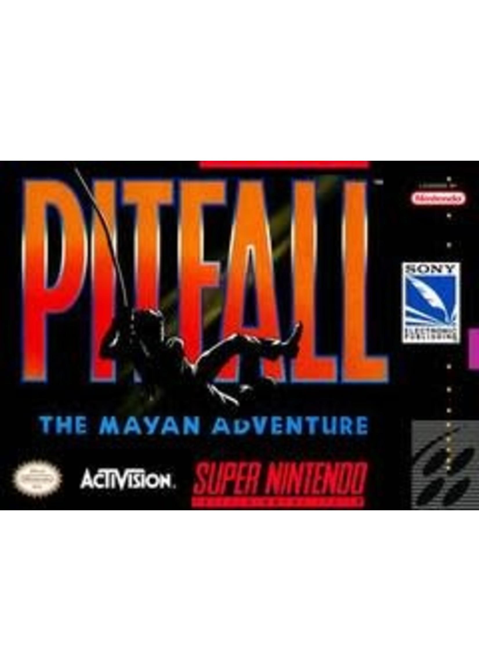 Pitfall Mayan Adventure Super Nintendo