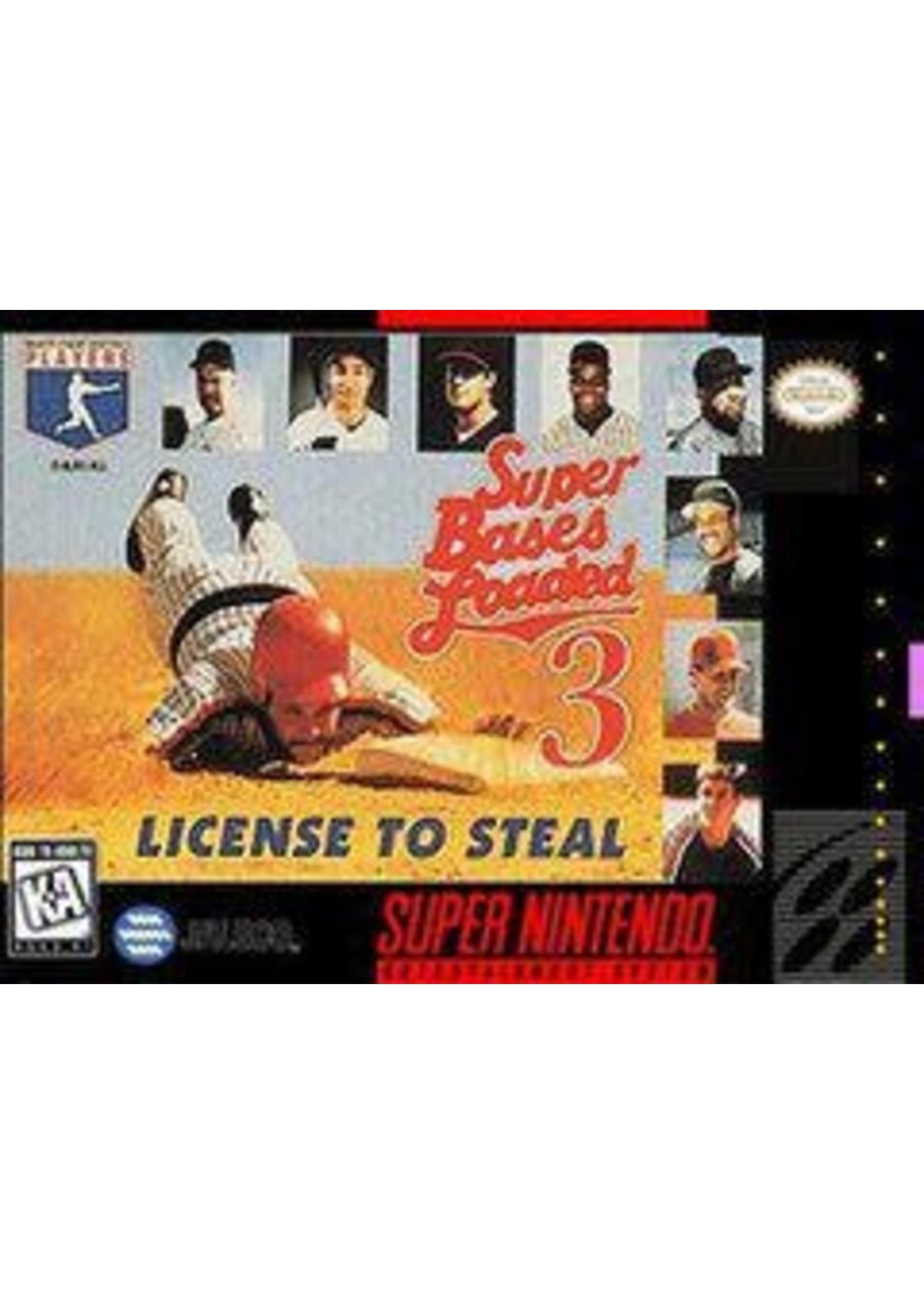 Super Bases Loaded 3: License To Steal Super Nintendo