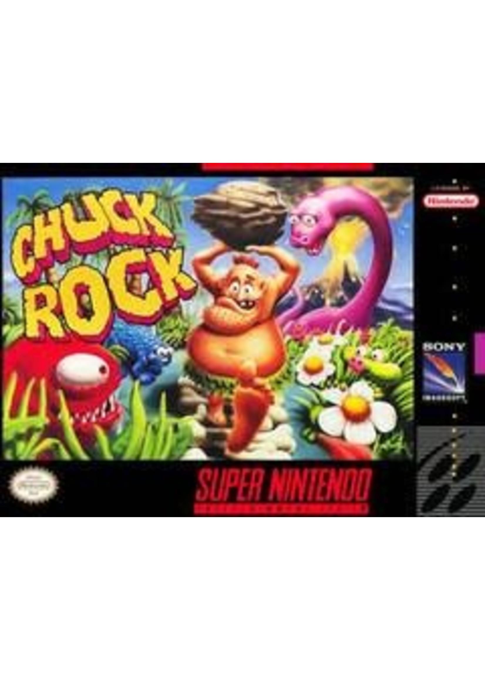 Chuck Rock Super Nintendo