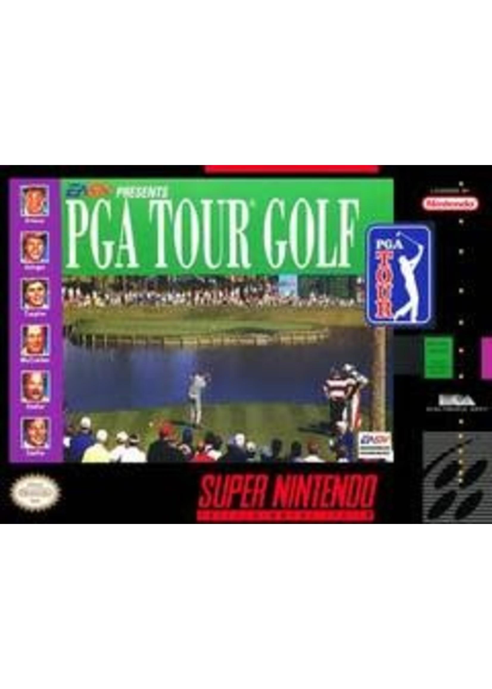 PGA Tour Golf Super Nintendo