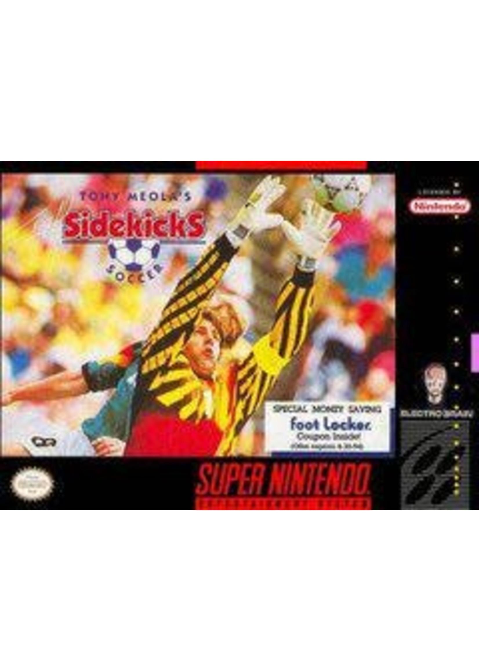 Tony Meola's Sidekicks Soccer Super Nintendo