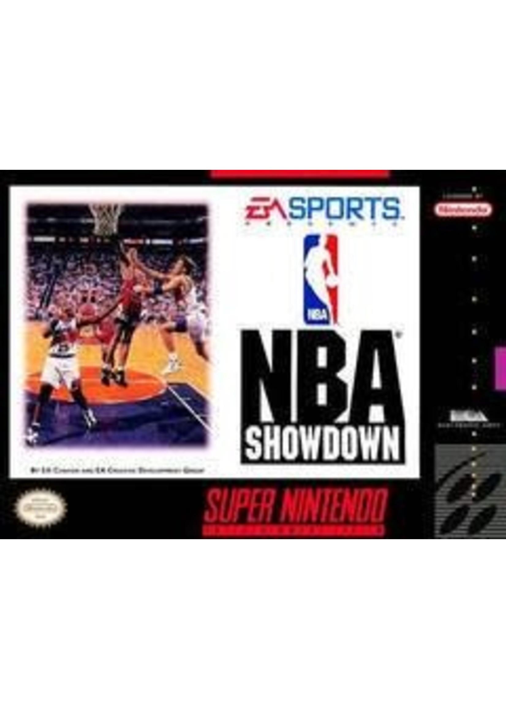 NBA Showdown Super Nintendo