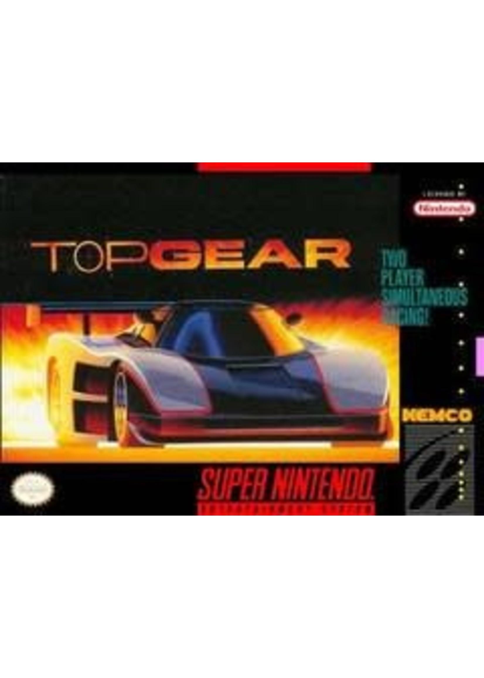 Top Gear Super Nintendo