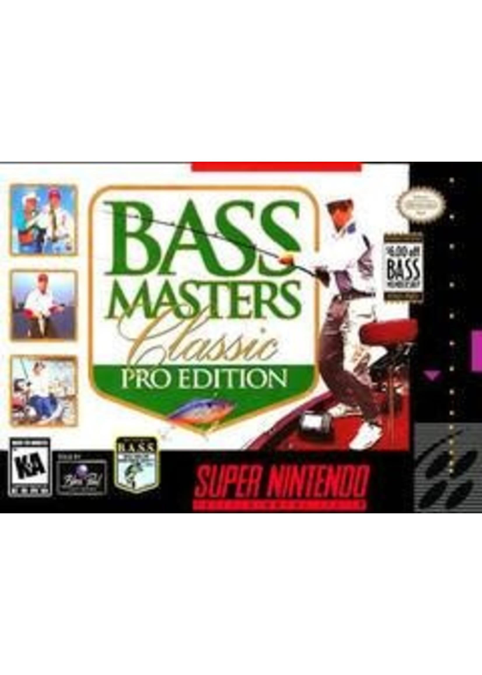 Bass Masters Classic Pro Edition Super Nintendo