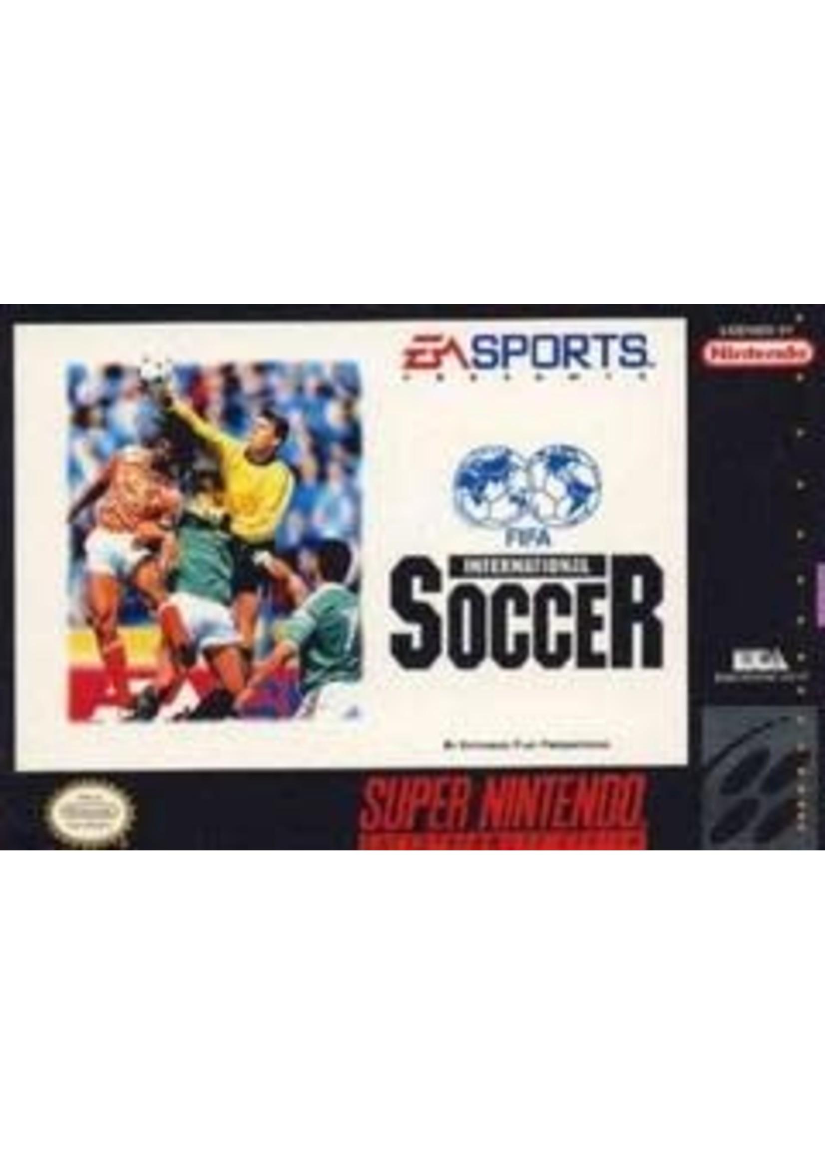 FIFA International Soccer Super Nintendo