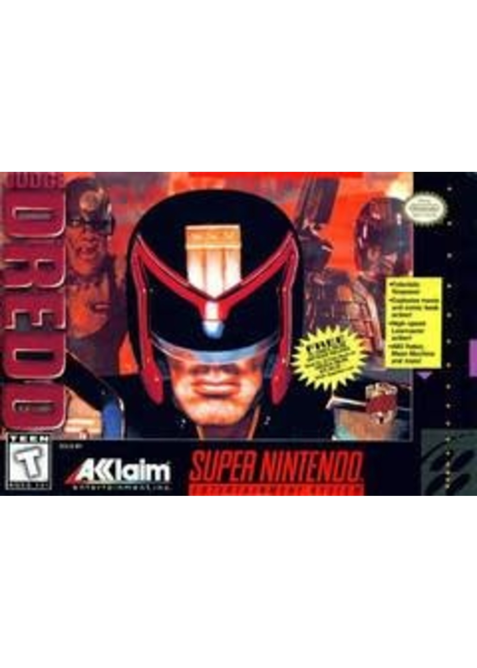 Judge Dredd Super Nintendo