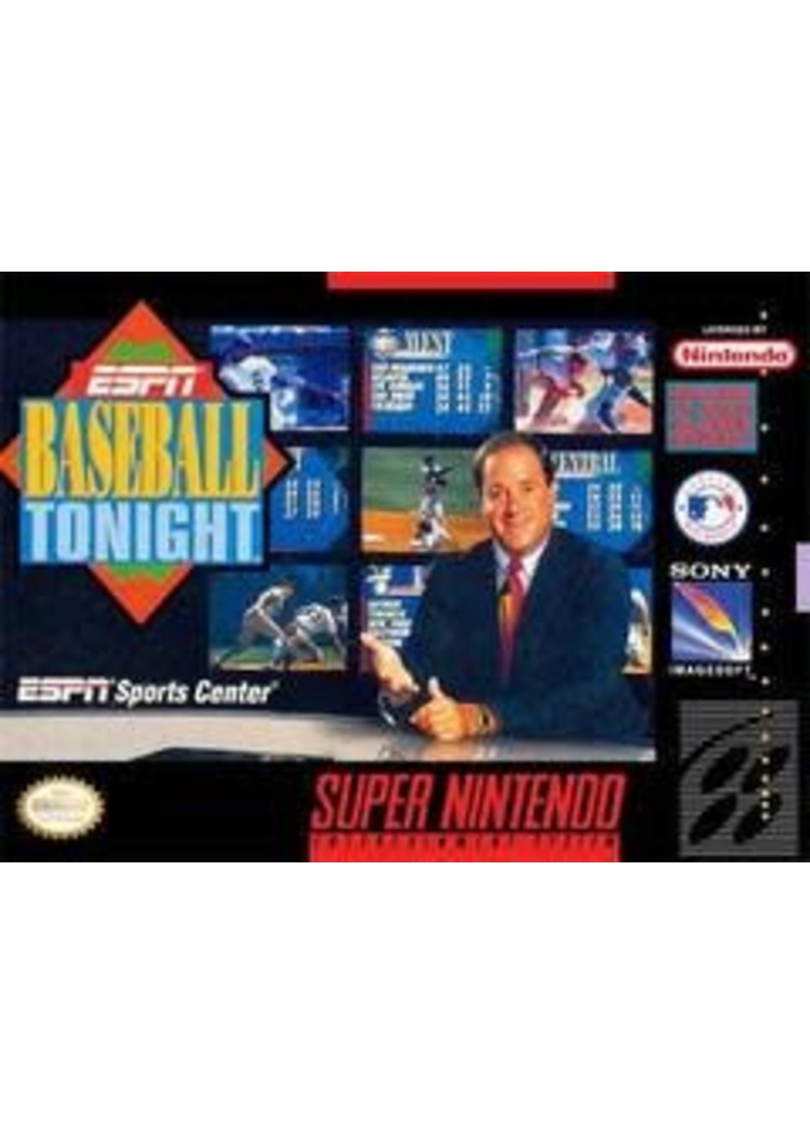 ESPN Baseball Tonight Super Nintendo