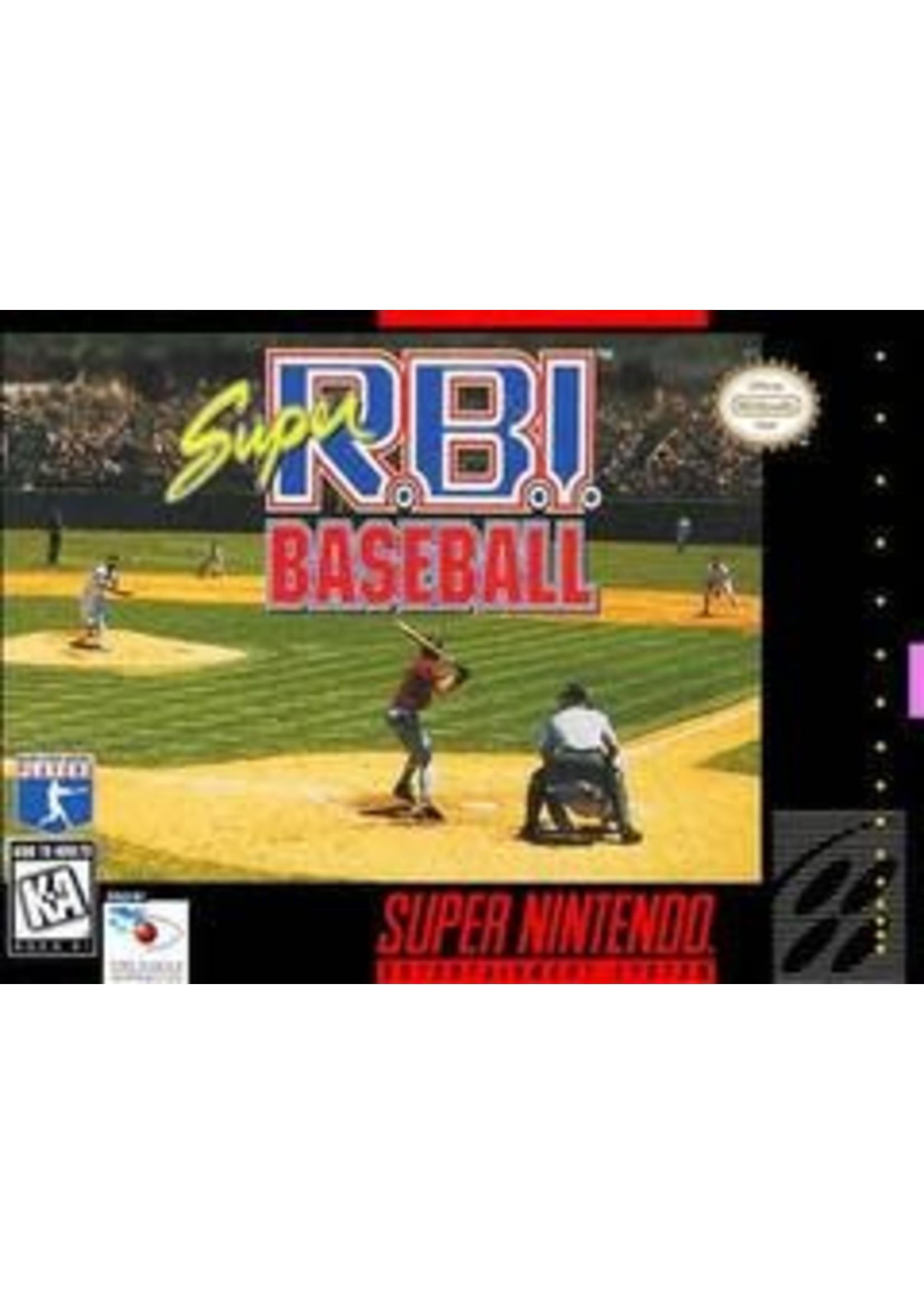 Super RBI Baseball (Super Nintendo)
