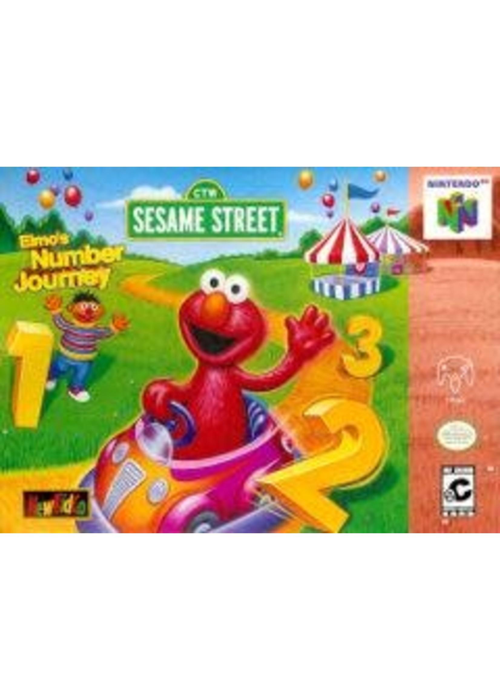 Elmo's Number Journey Nintendo 64