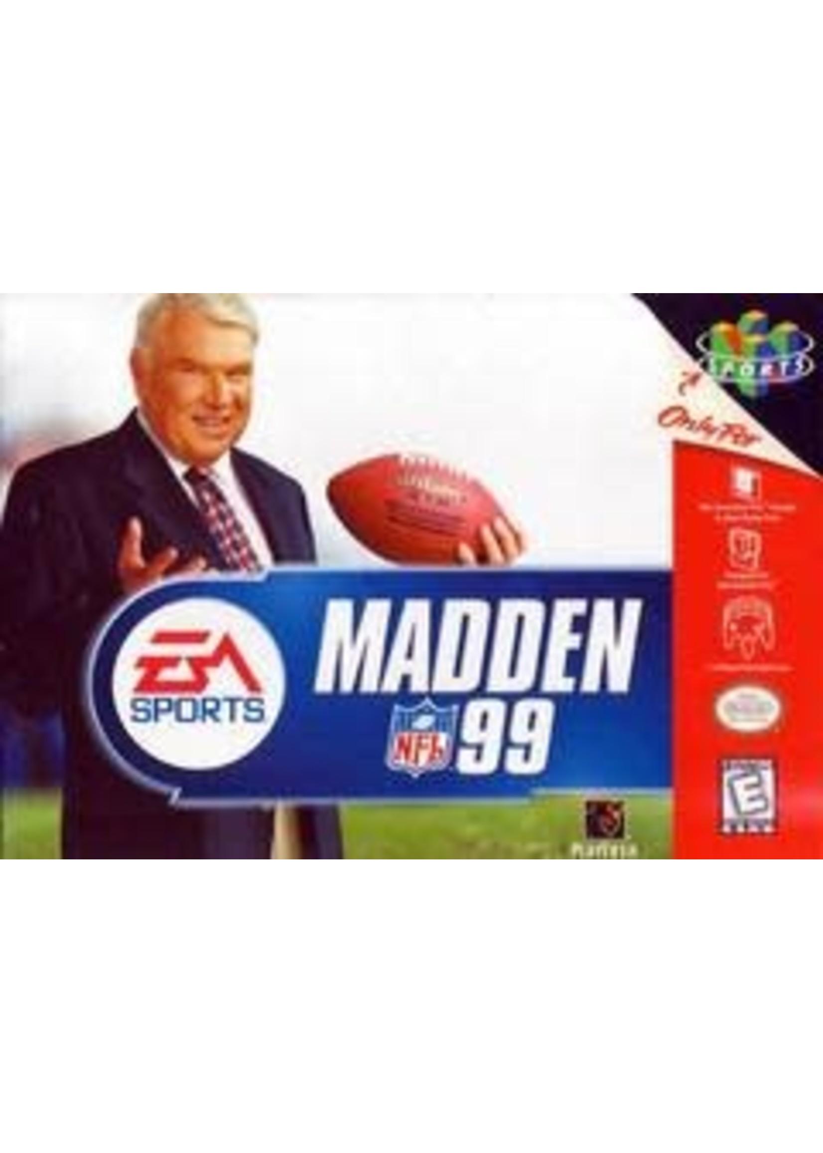 Madden 99 Nintendo 64