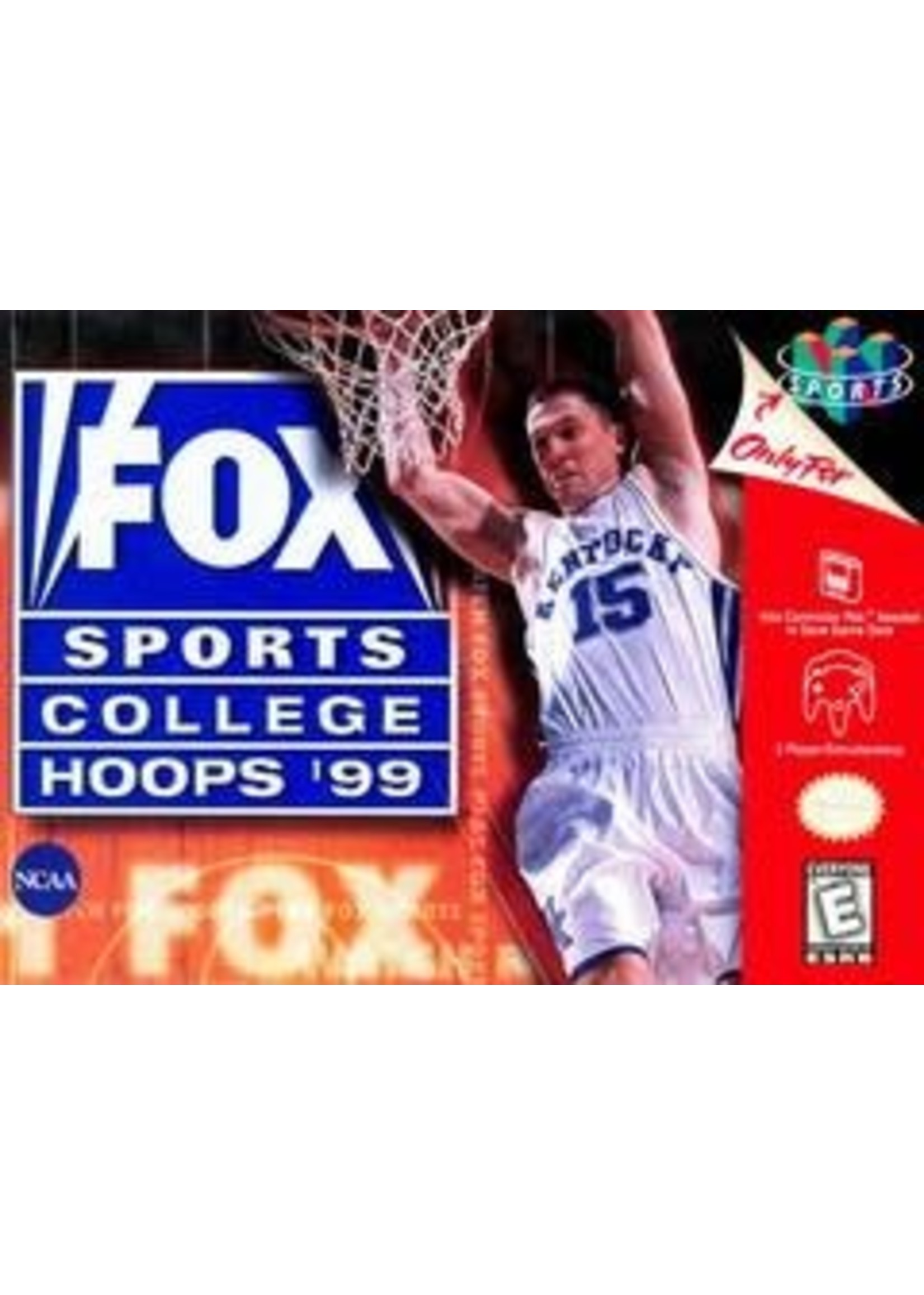 FOX Sports College Hoops '99 Nintendo 64