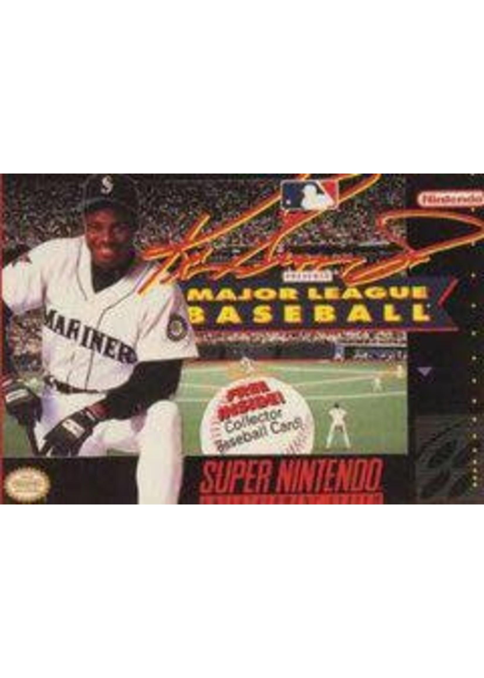 Ken Griffey Jr Major League Baseball Super Nintendo