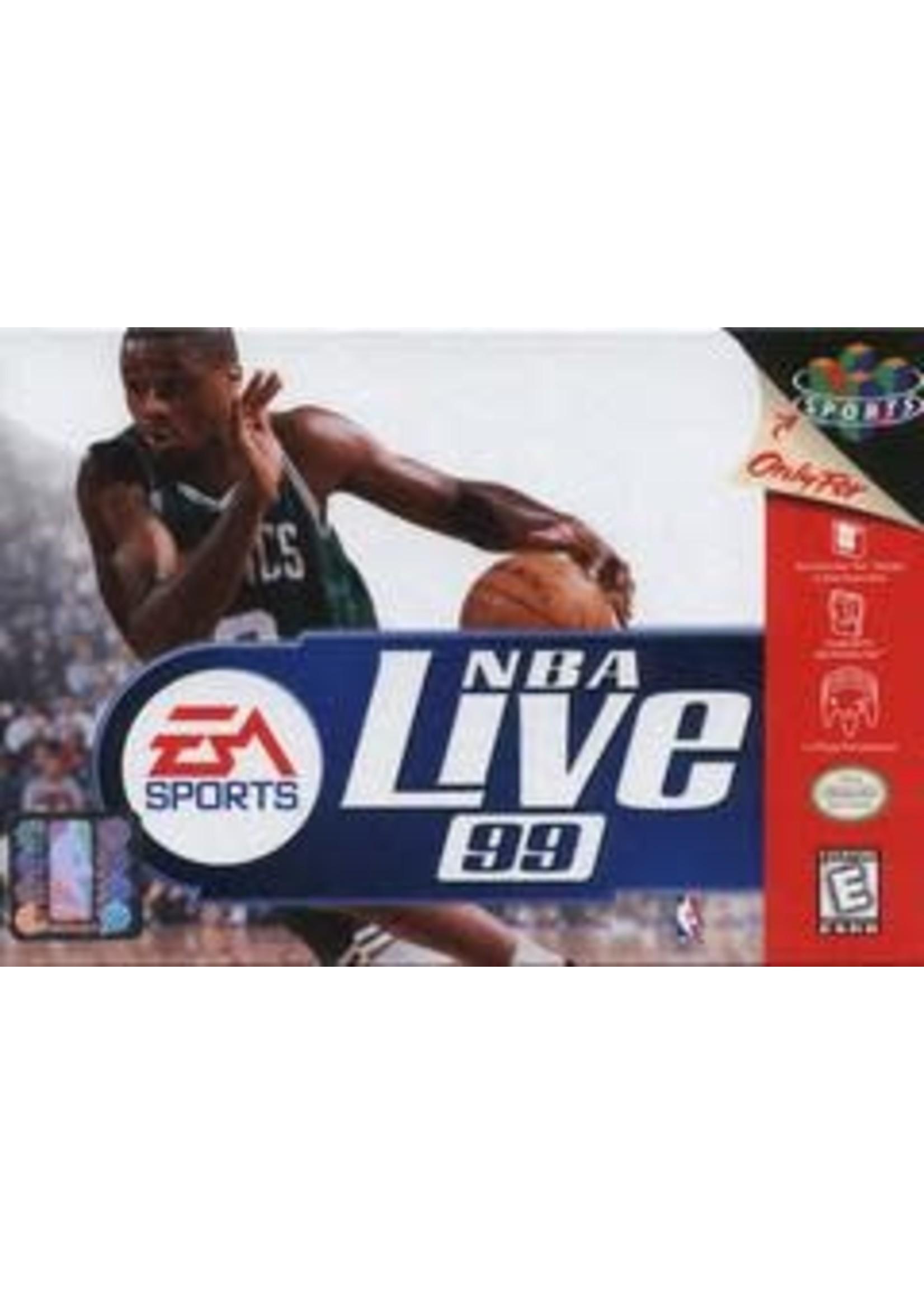 NBA Live 99 Nintendo 64