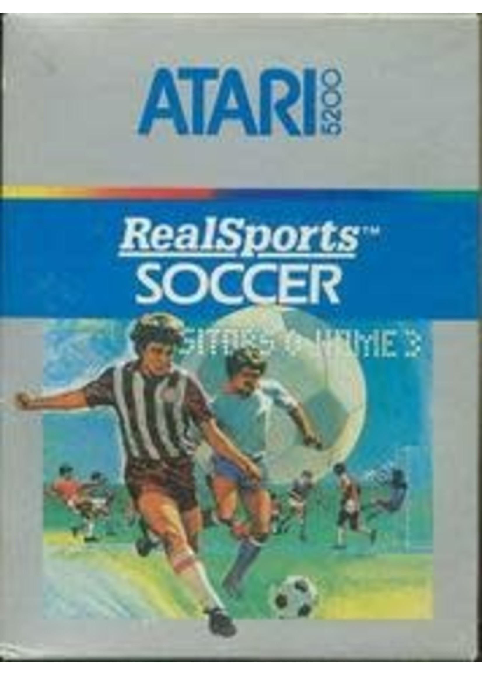RealSports Soccer Atari 5200