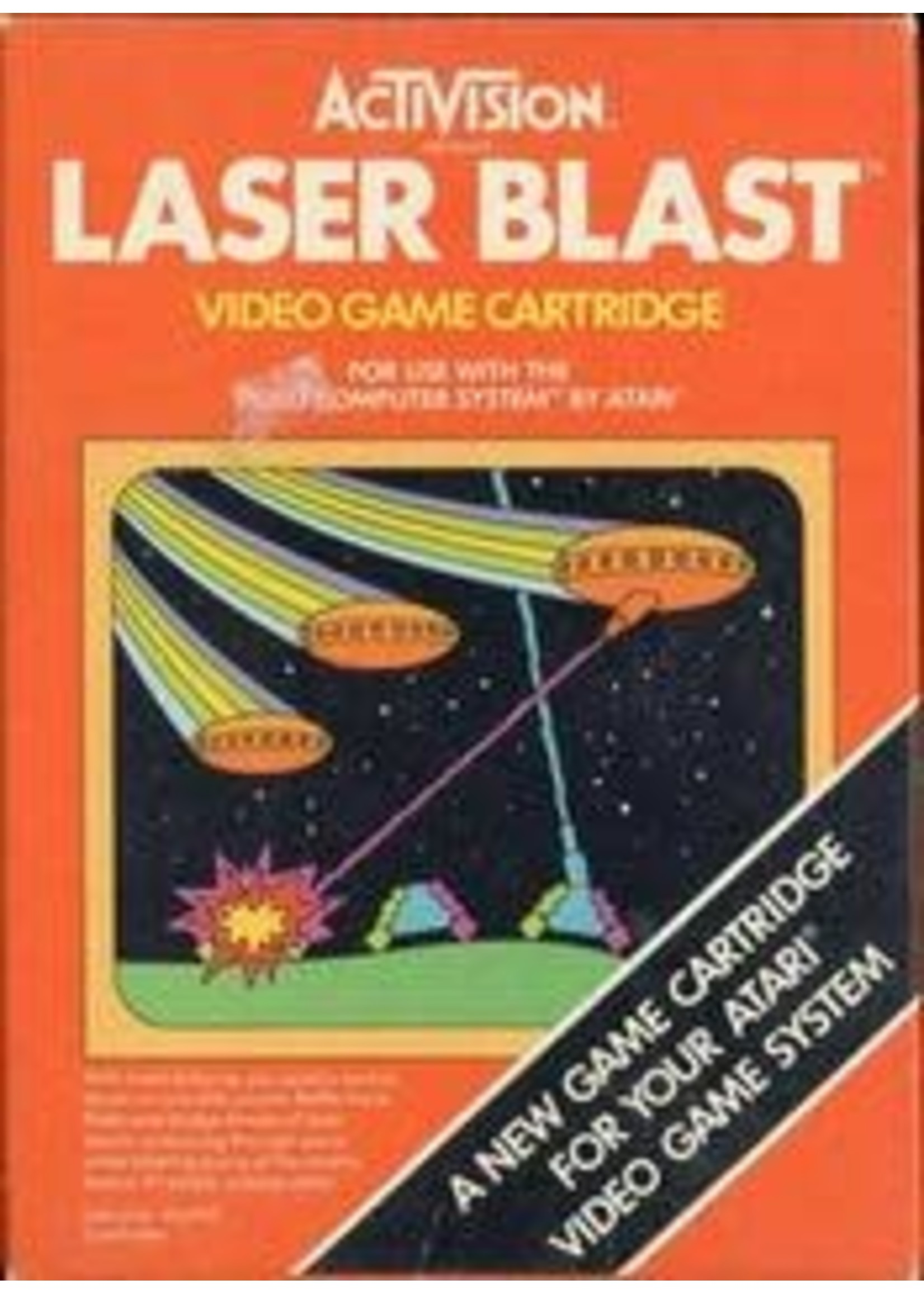 Laser Blast Atari 2600