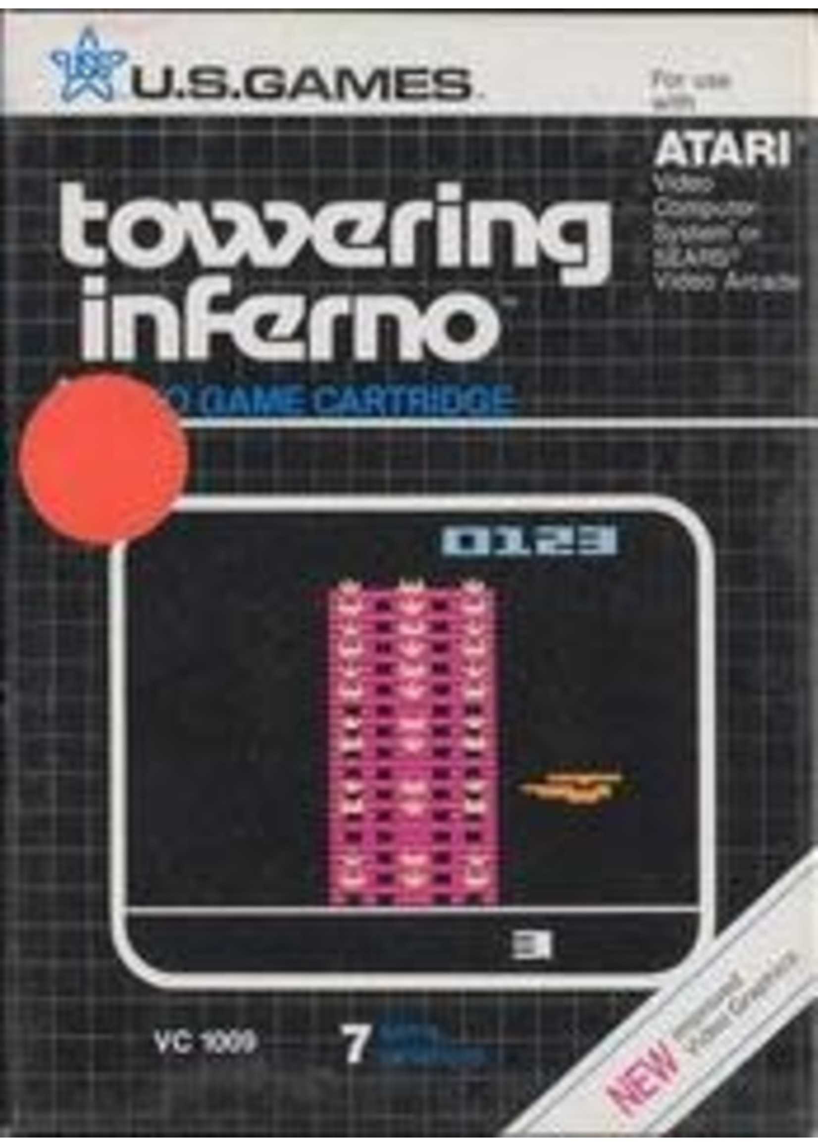 Towering Inferno Atari 2600