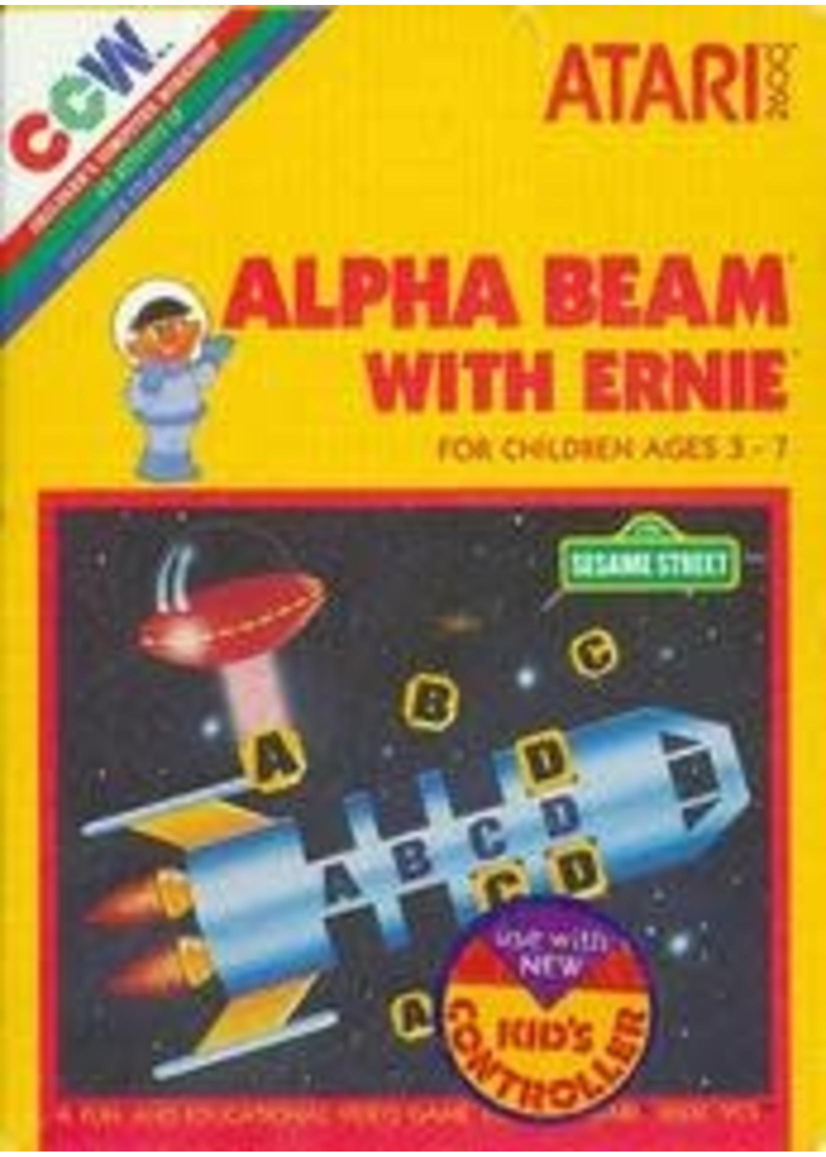 Alpha Beam With Ernie Atari 2600