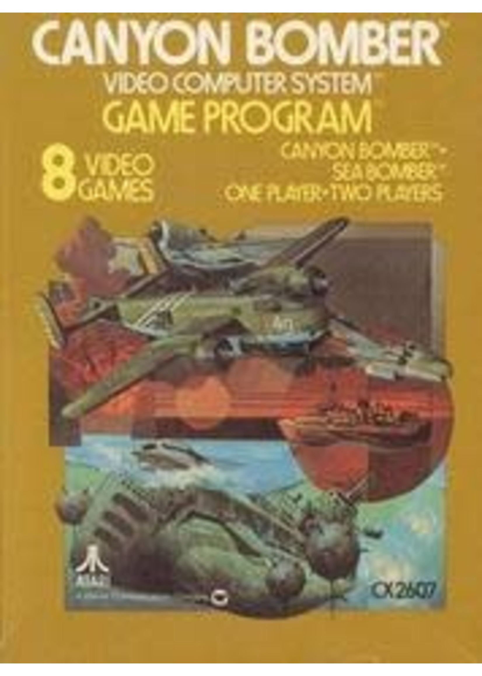 Canyon Bomber Atari 2600