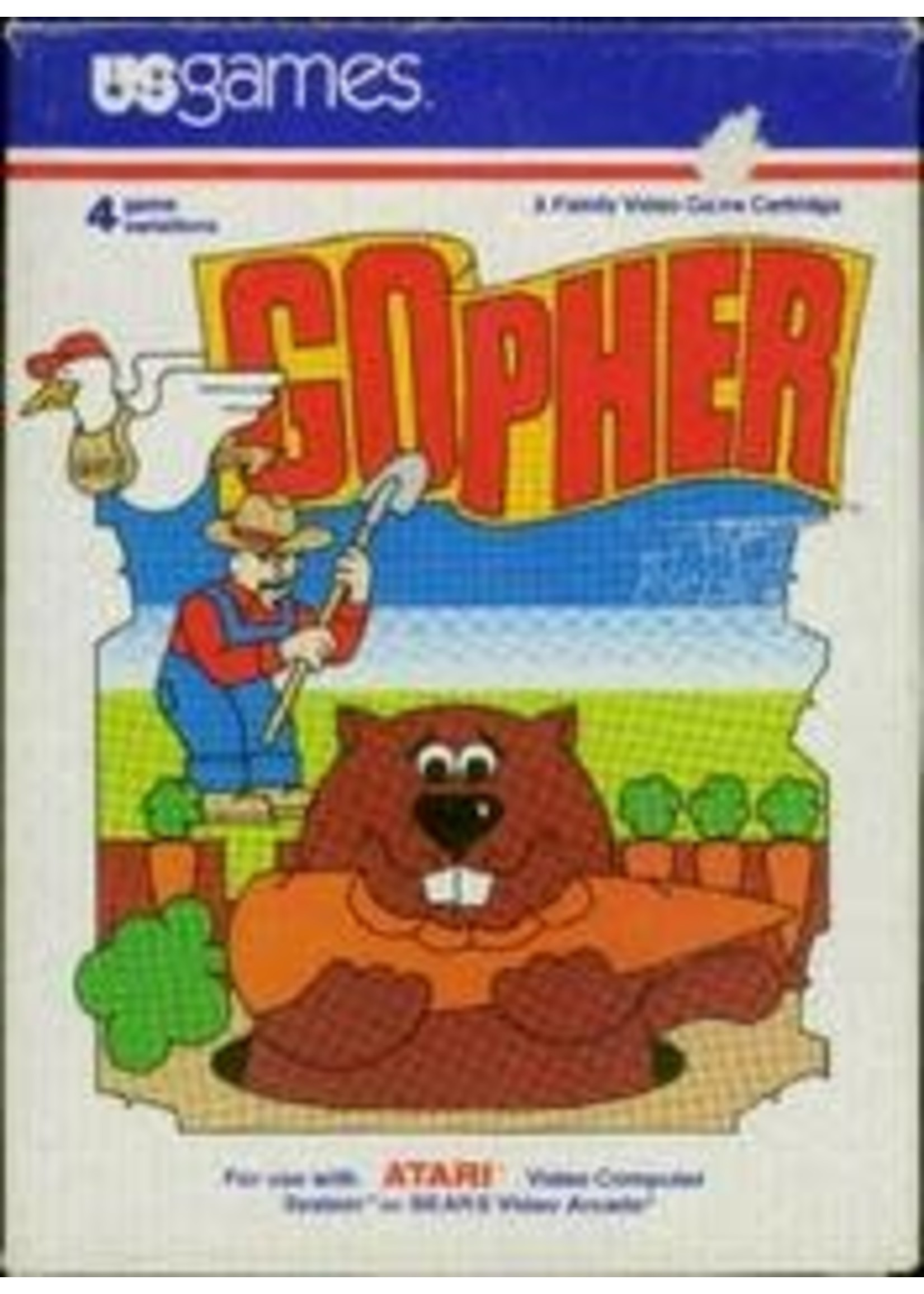 Gopher Atari 2600