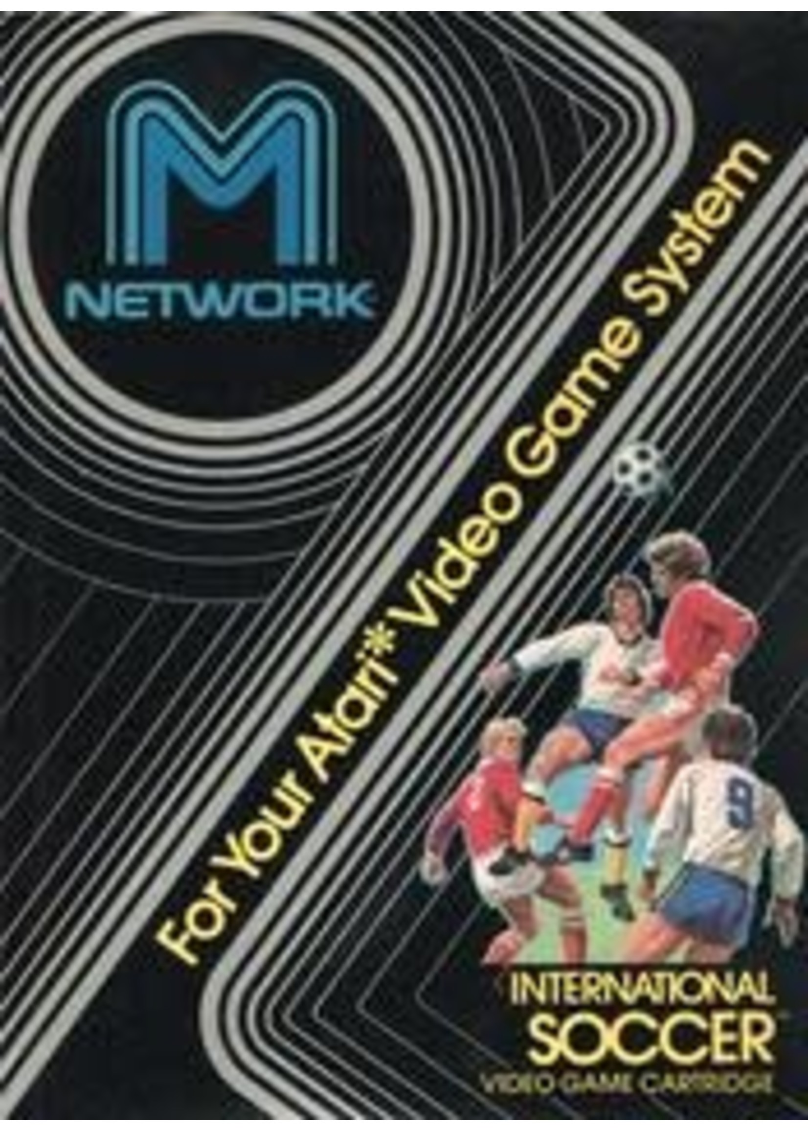 International Soccer Atari 2600