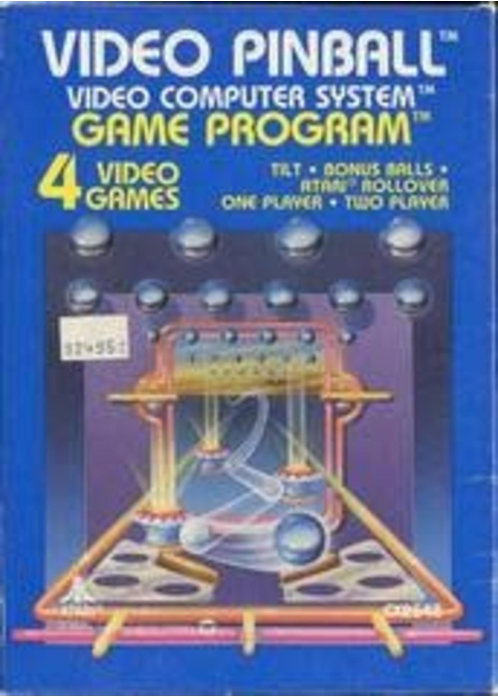 Video Pinball Atari 2600
