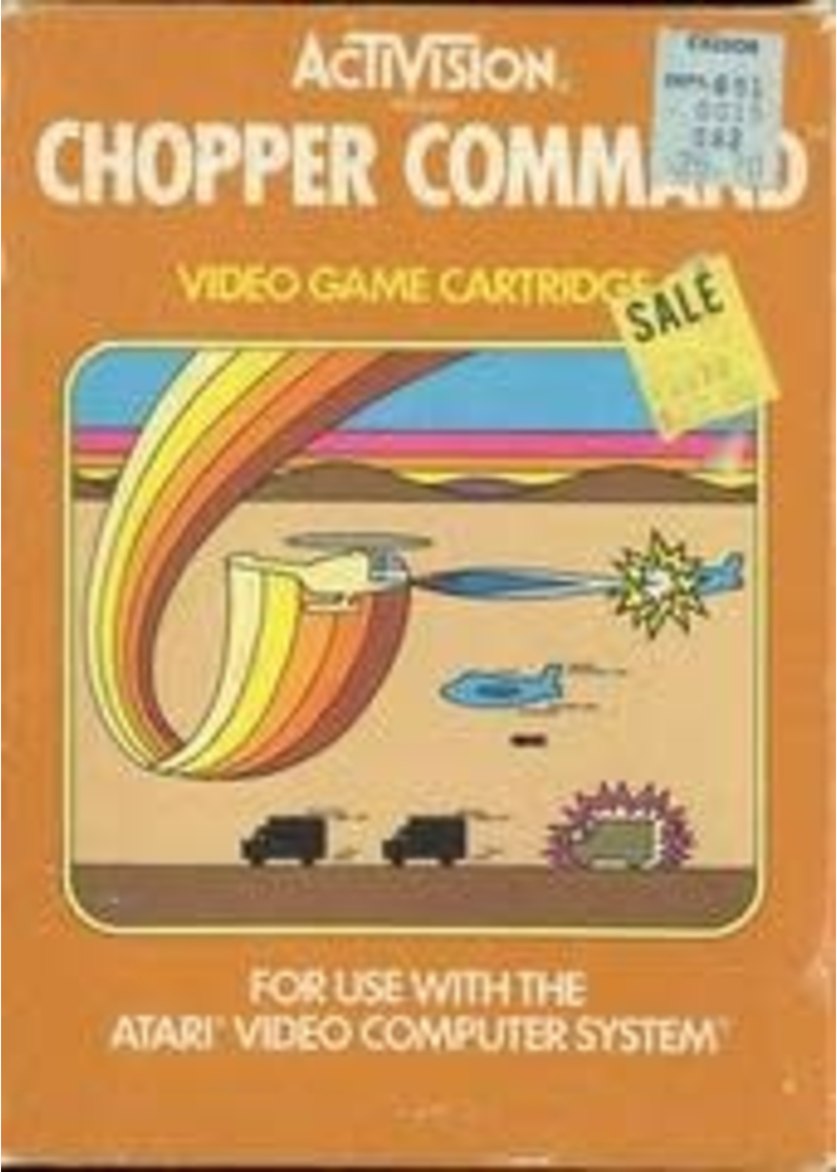 Chopper Command Atari 2600