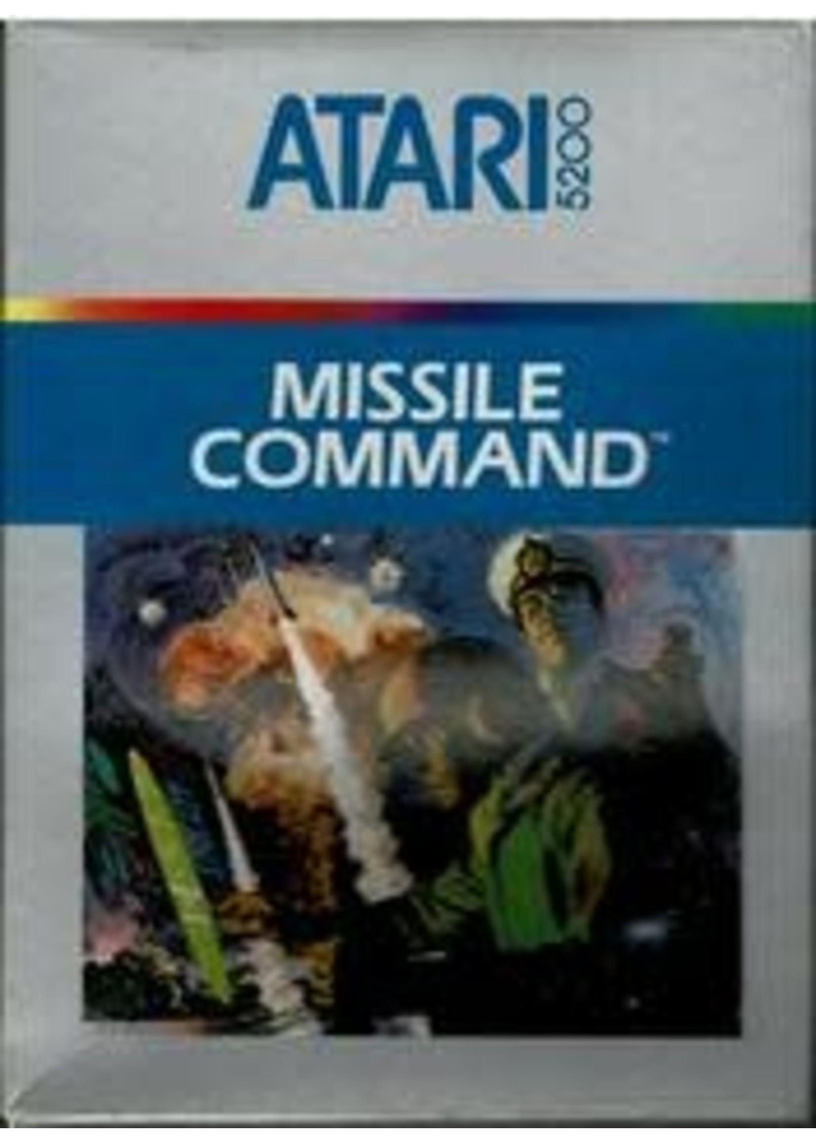 Missile Command Atari 5200
