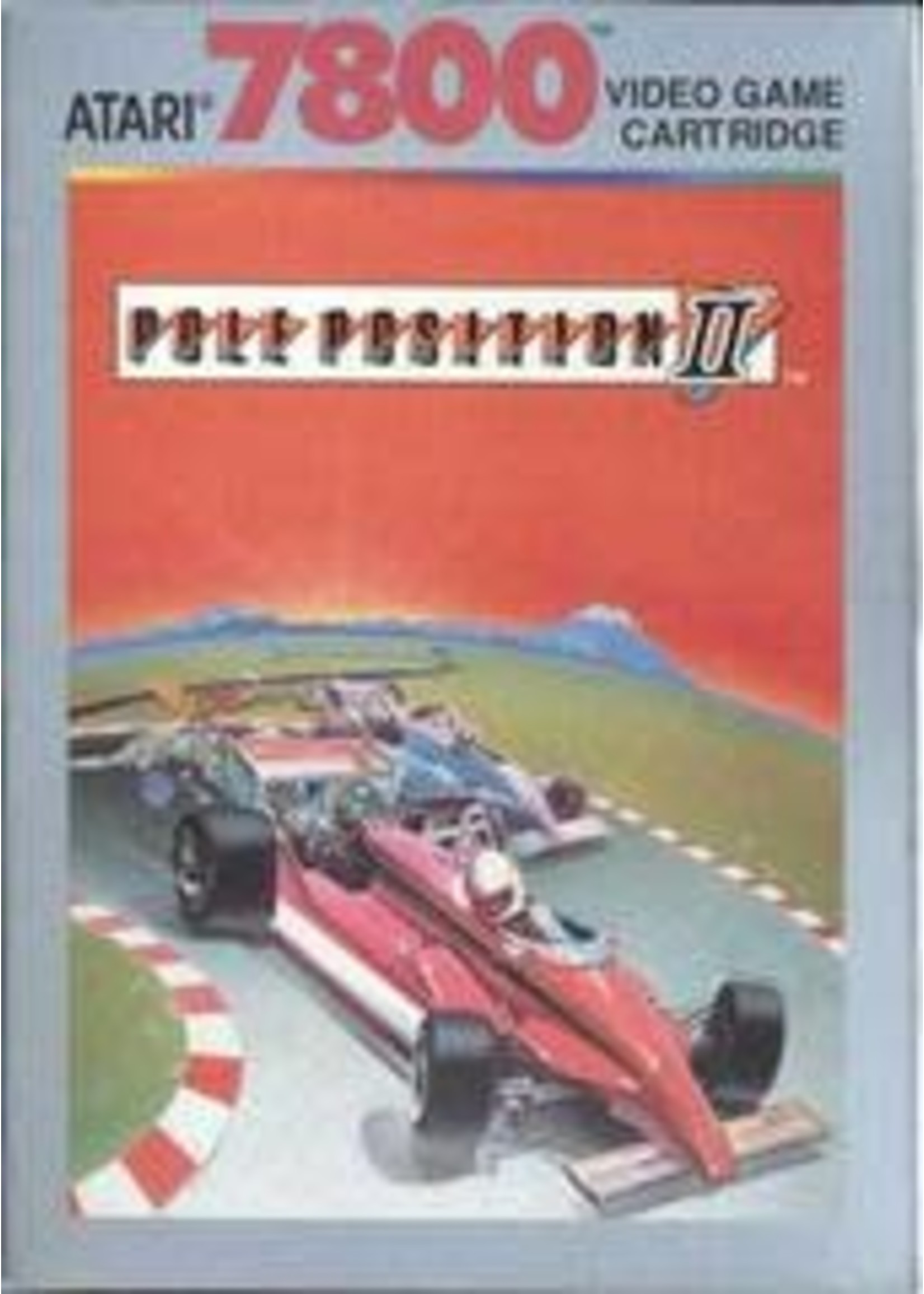 Pole Position II Atari 7800