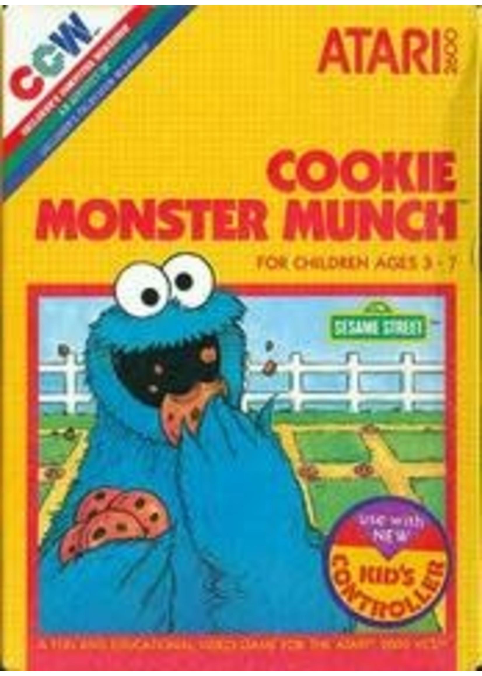 Cookie Monster Munch Atari 2600