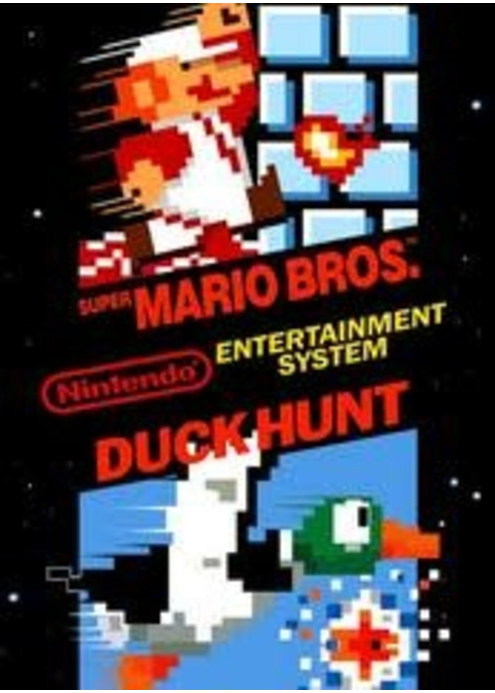 Super Mario Bros And Duck Hunt NES