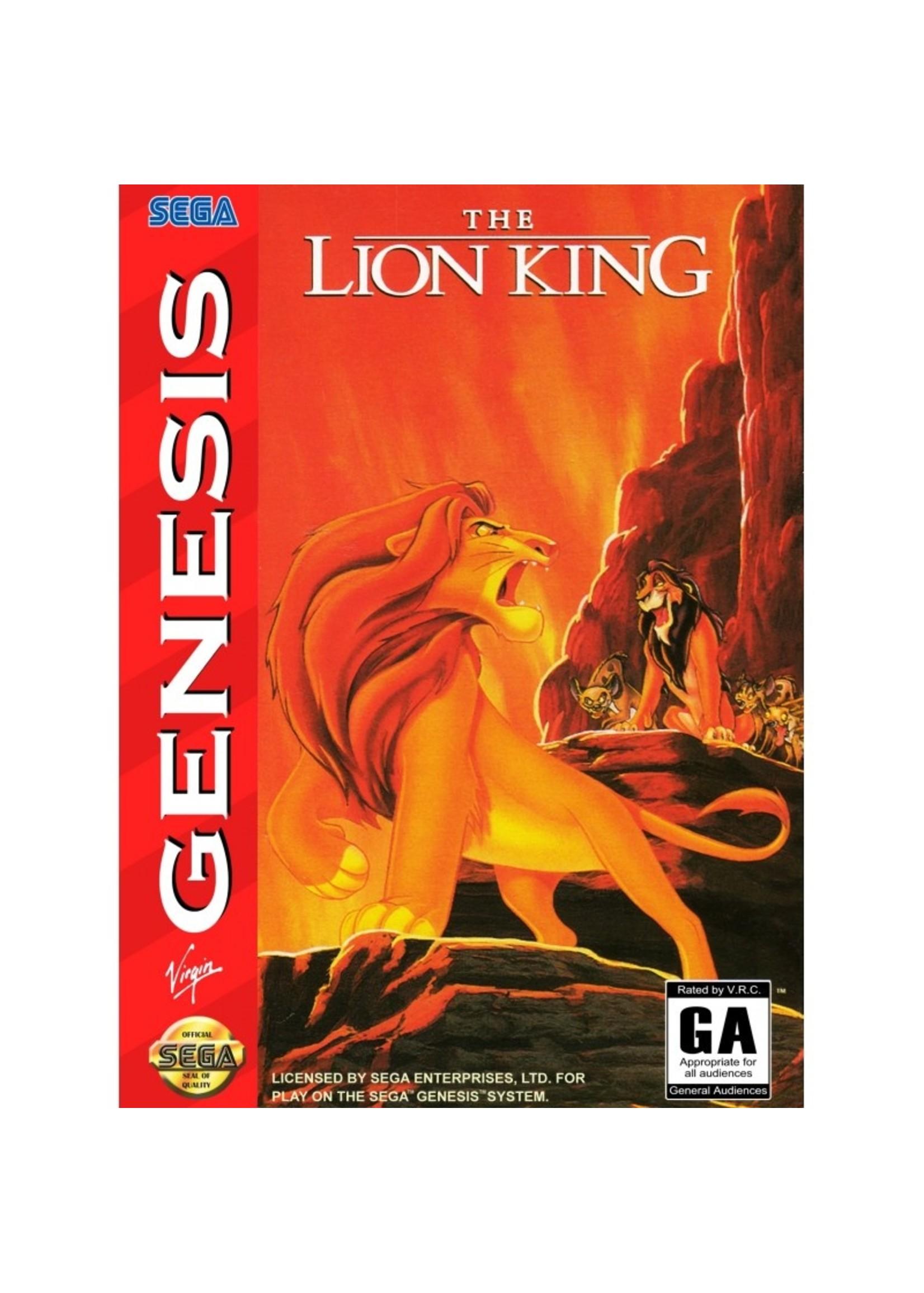 The Lion King Sega Genesis