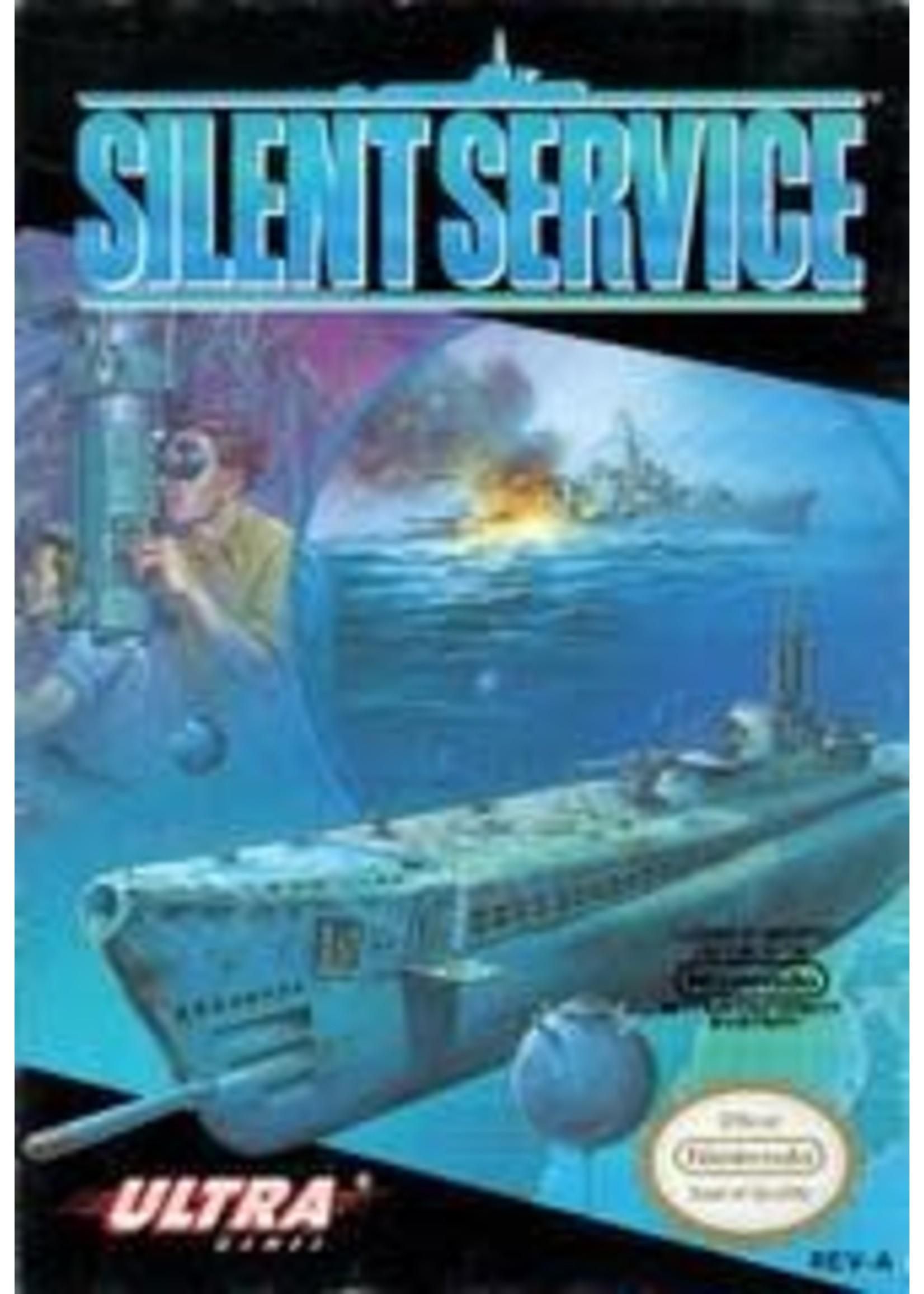 Silent Service NES