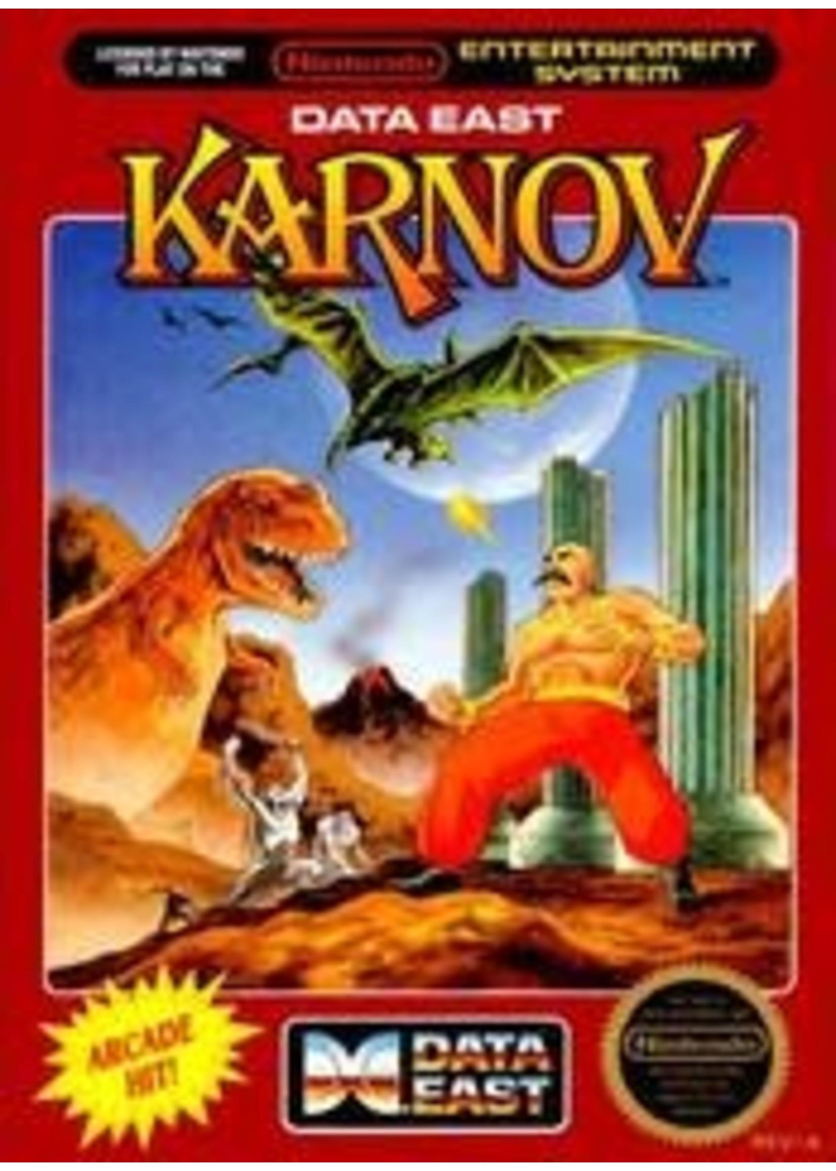 Karnov NES