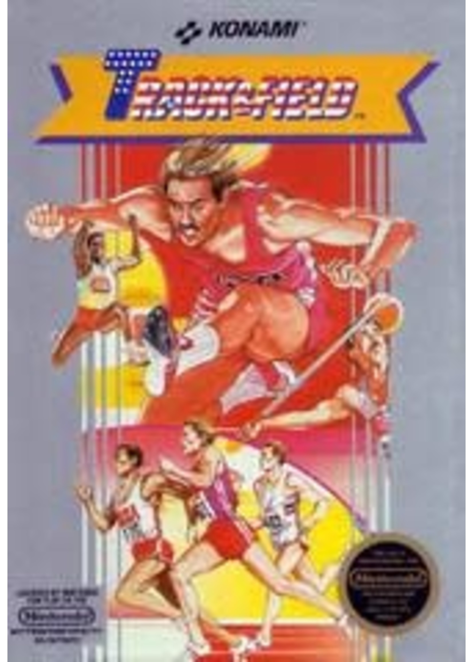 Track And Field NES