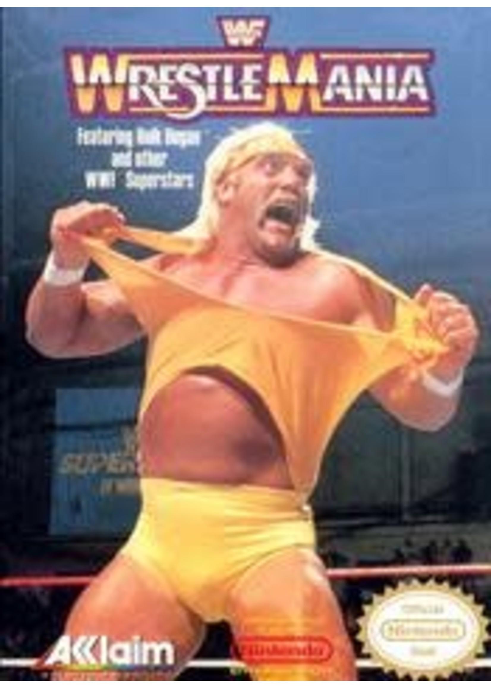 WWF Wrestlemania NES