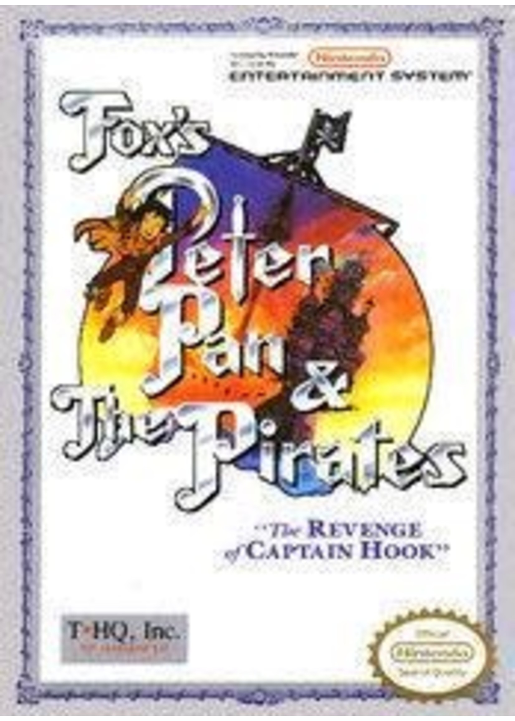 Peter Pan And The Pirates NES