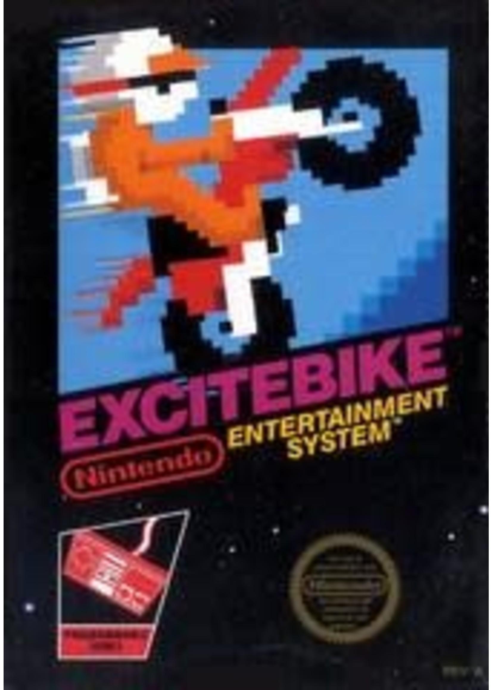 Excitebike NES With Booklet