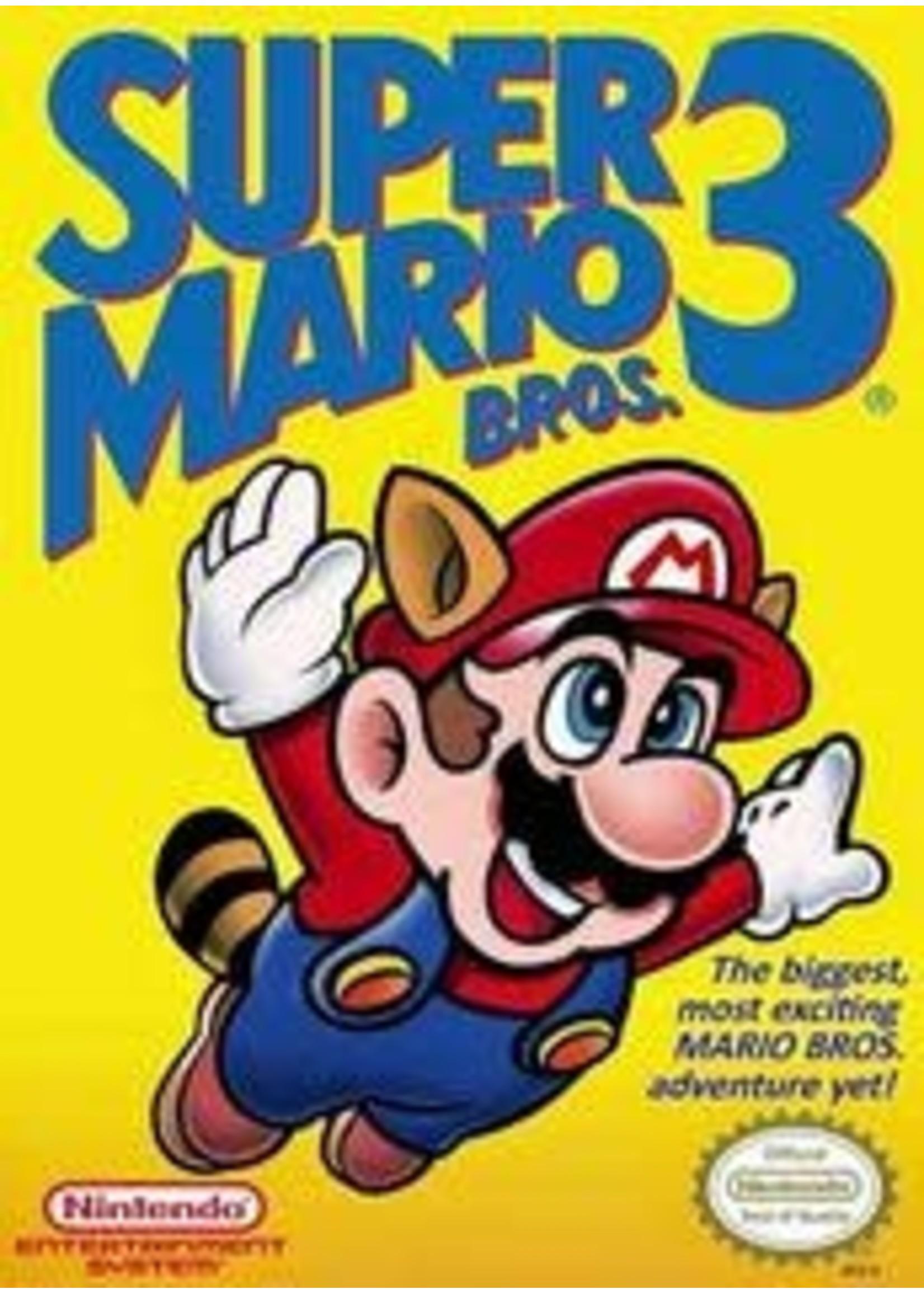 Super Mario Bros 3 NES With Booklet