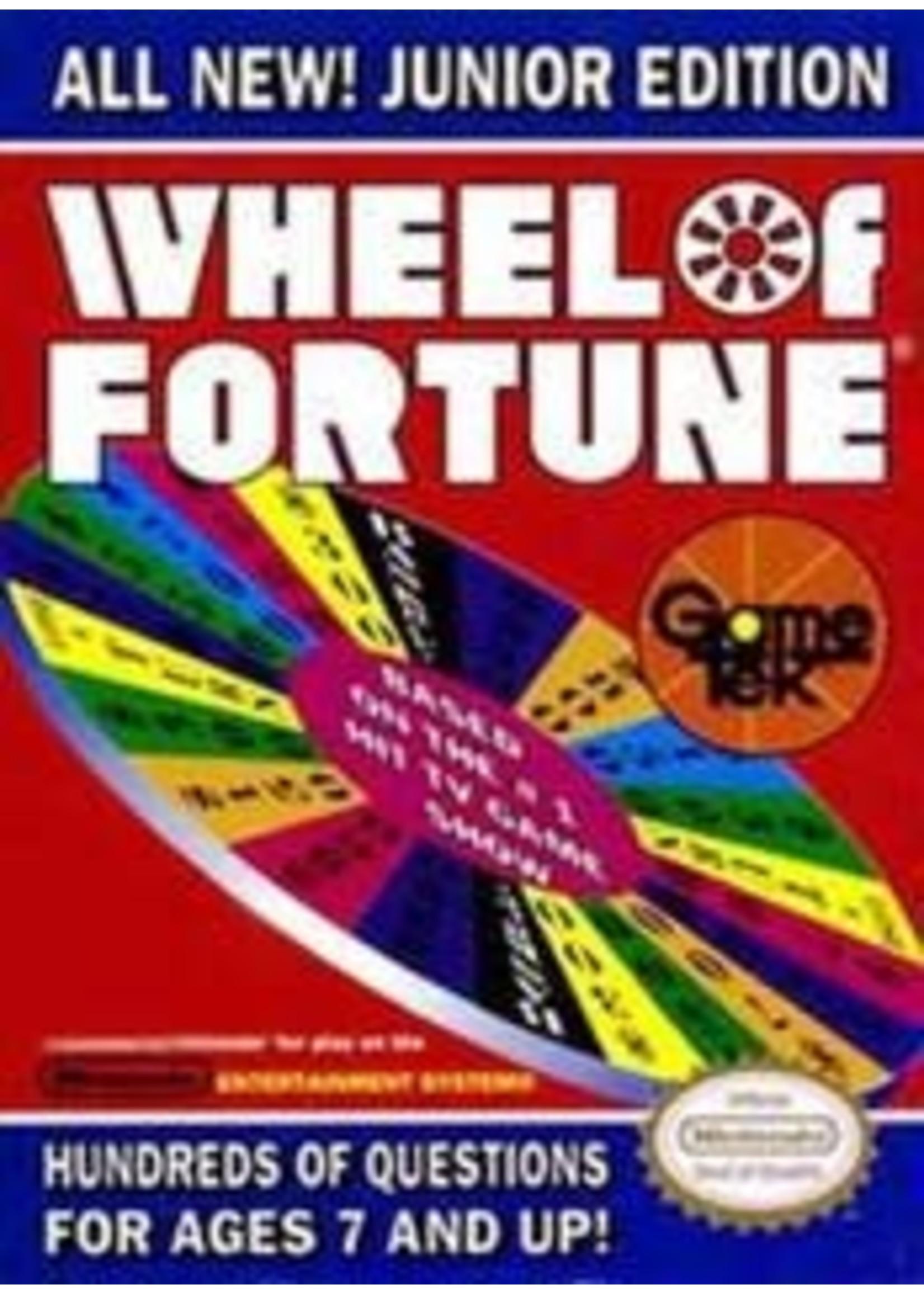 Wheel Of Fortune Junior Edition NES