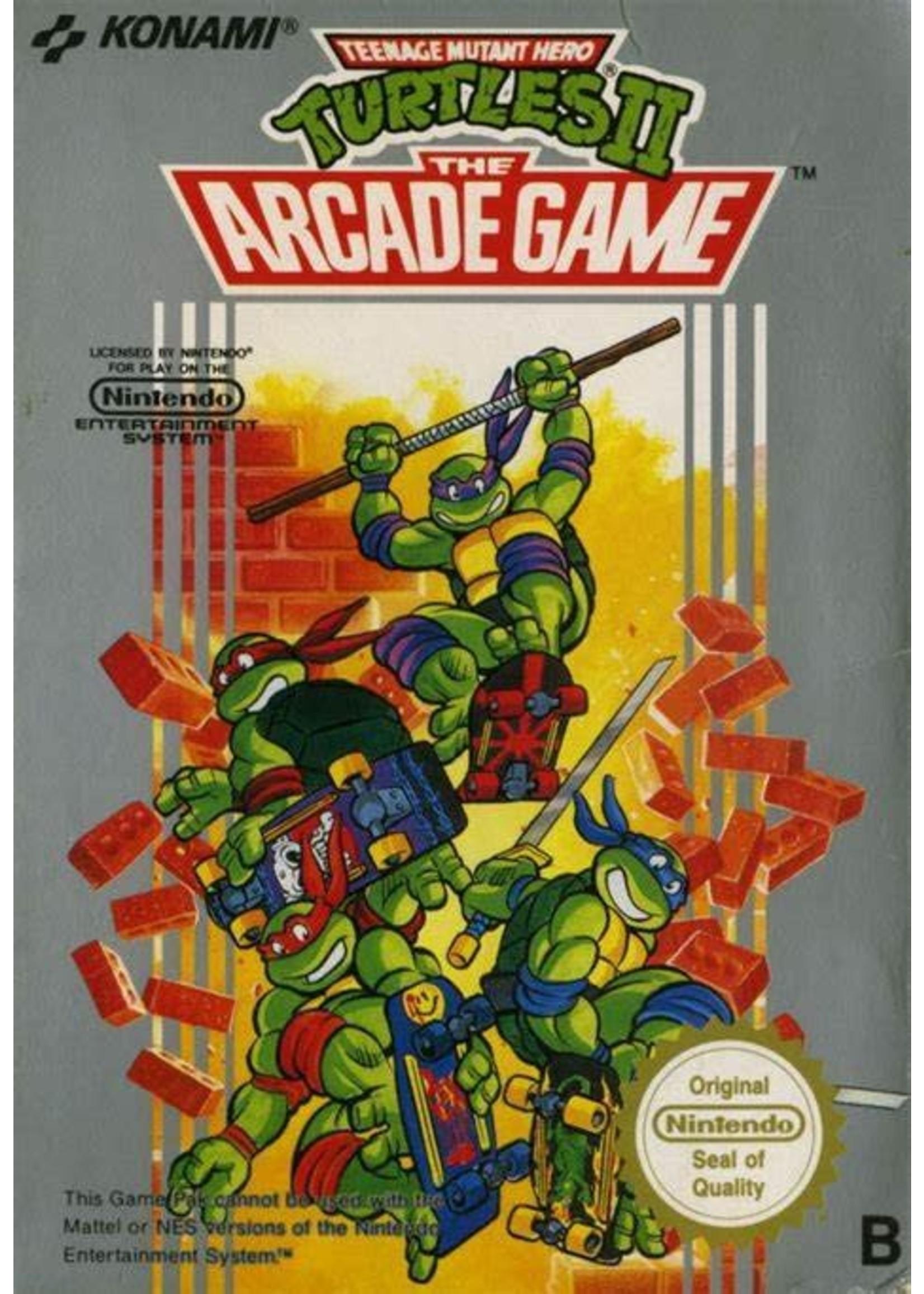 Teenage Mutant Ninja Turtles 2: The Arcade Game [NES]