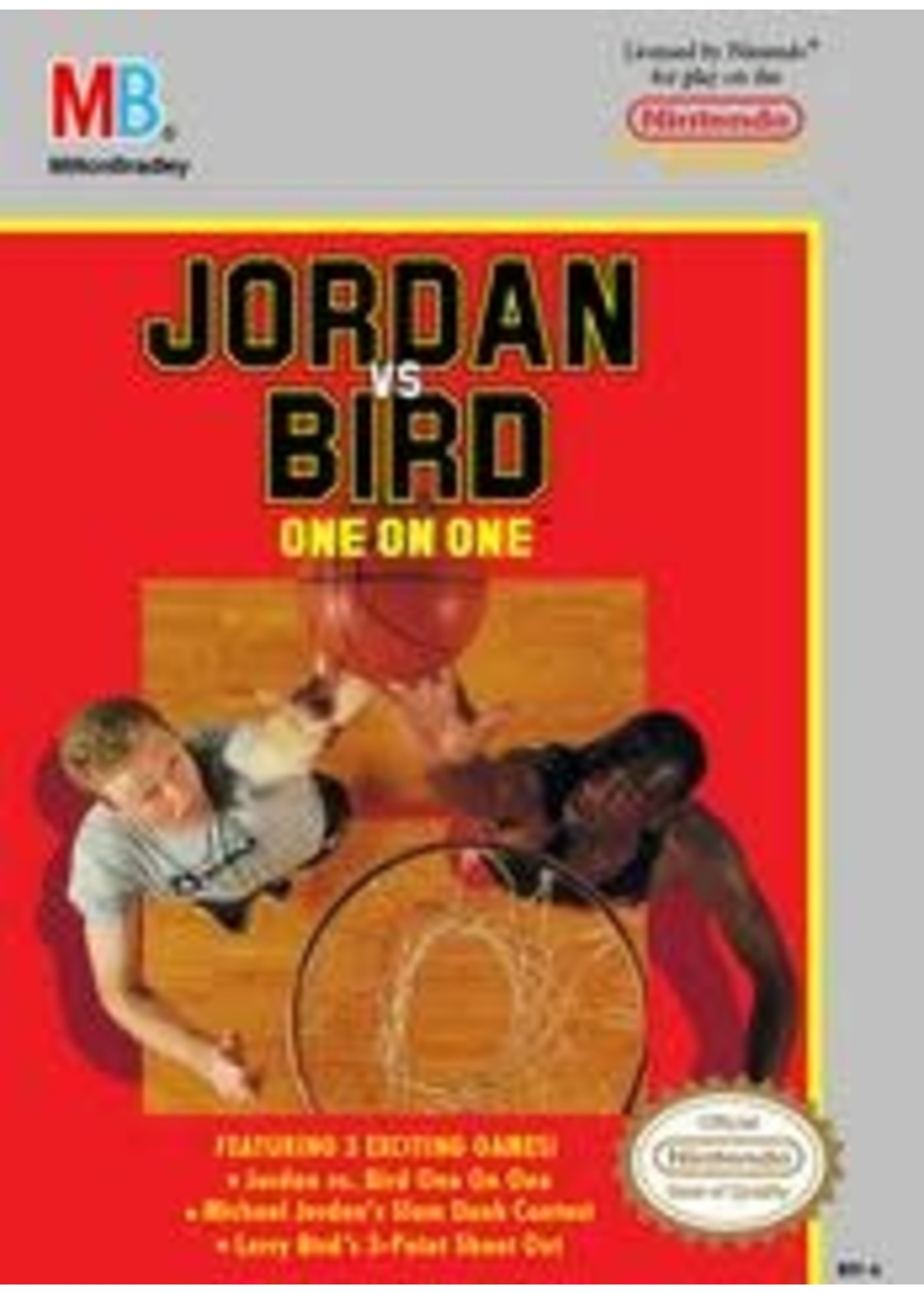 Jordan Vs Bird One On One NES