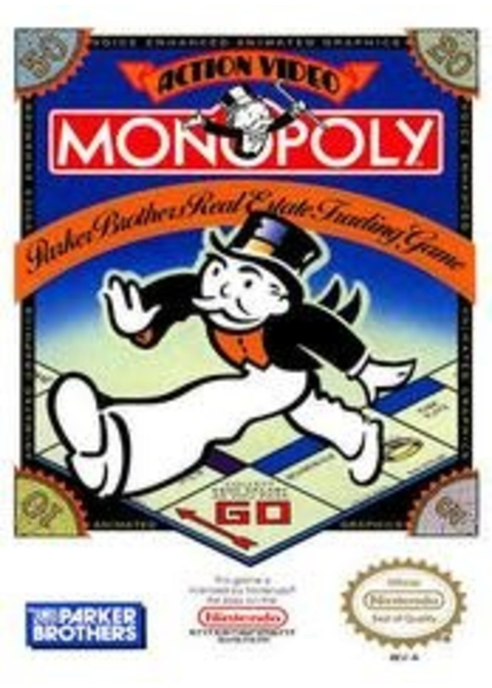 Monopoly NES
