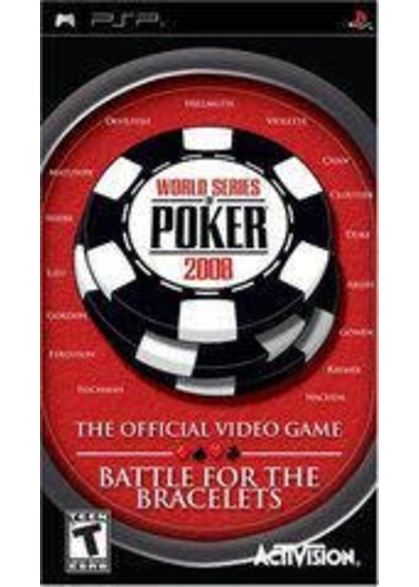 World Series Of Poker 2008 PSP