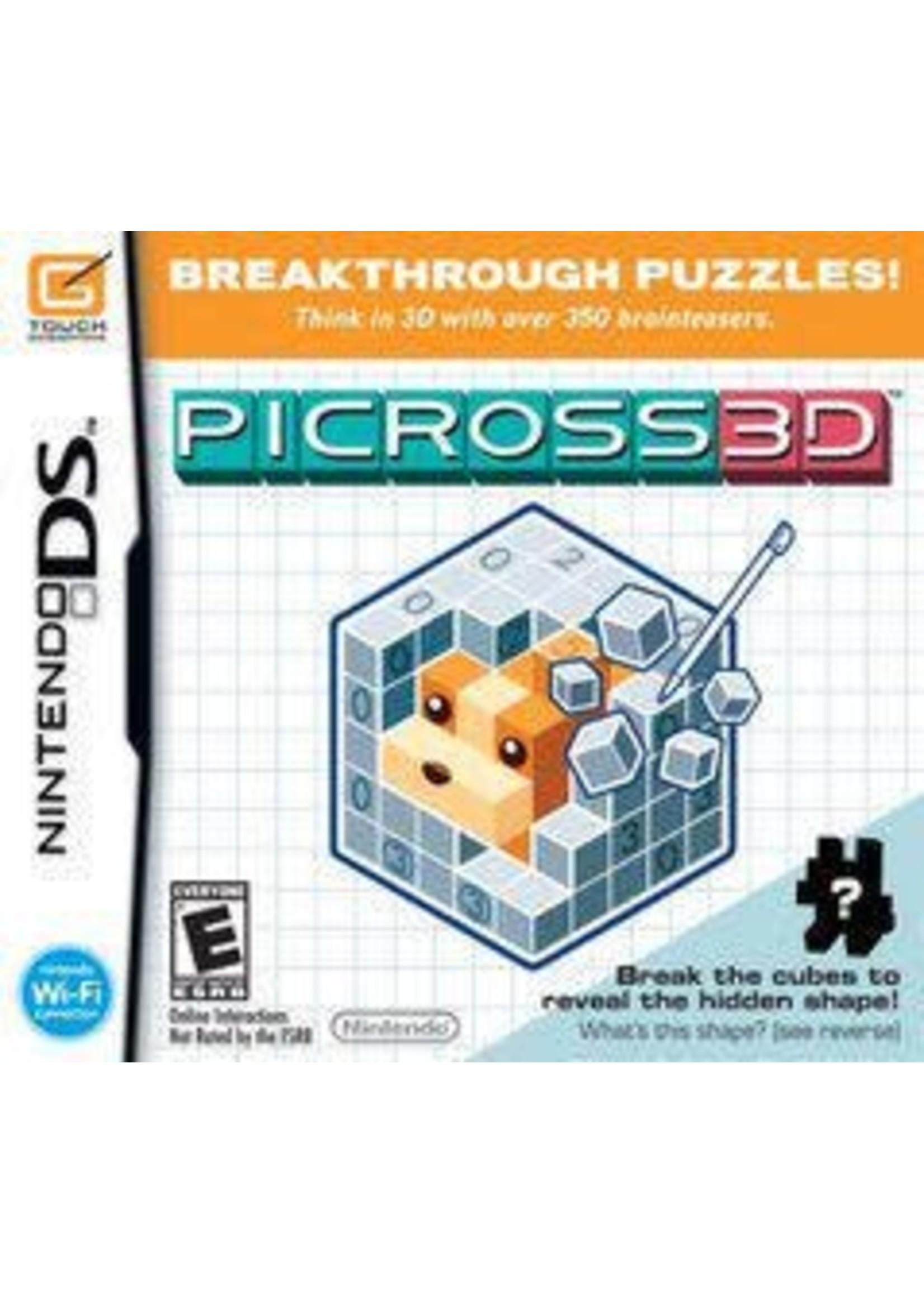 Picross 3D Nintendo DS