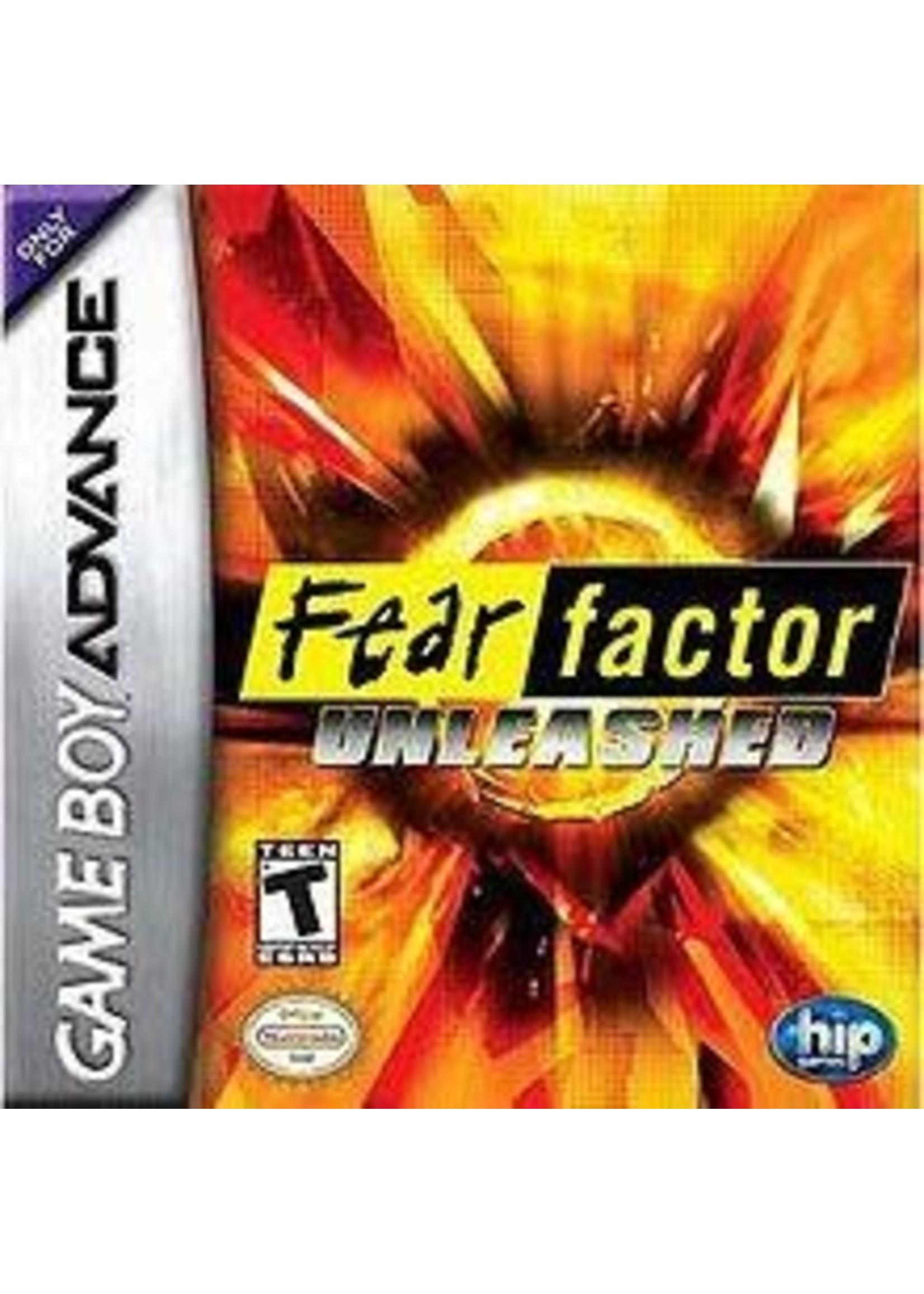 Fear Factor Unleashed GameBoy Advance