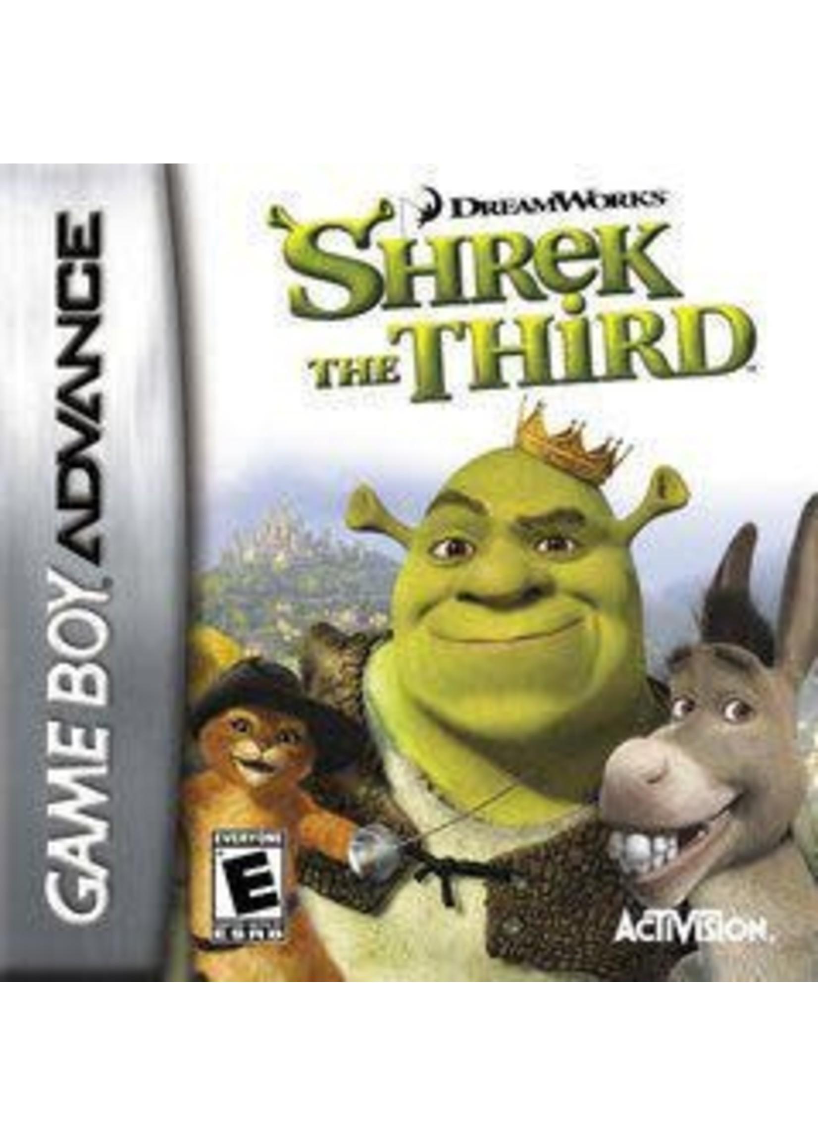 Shrek The Third GameBoy Advance