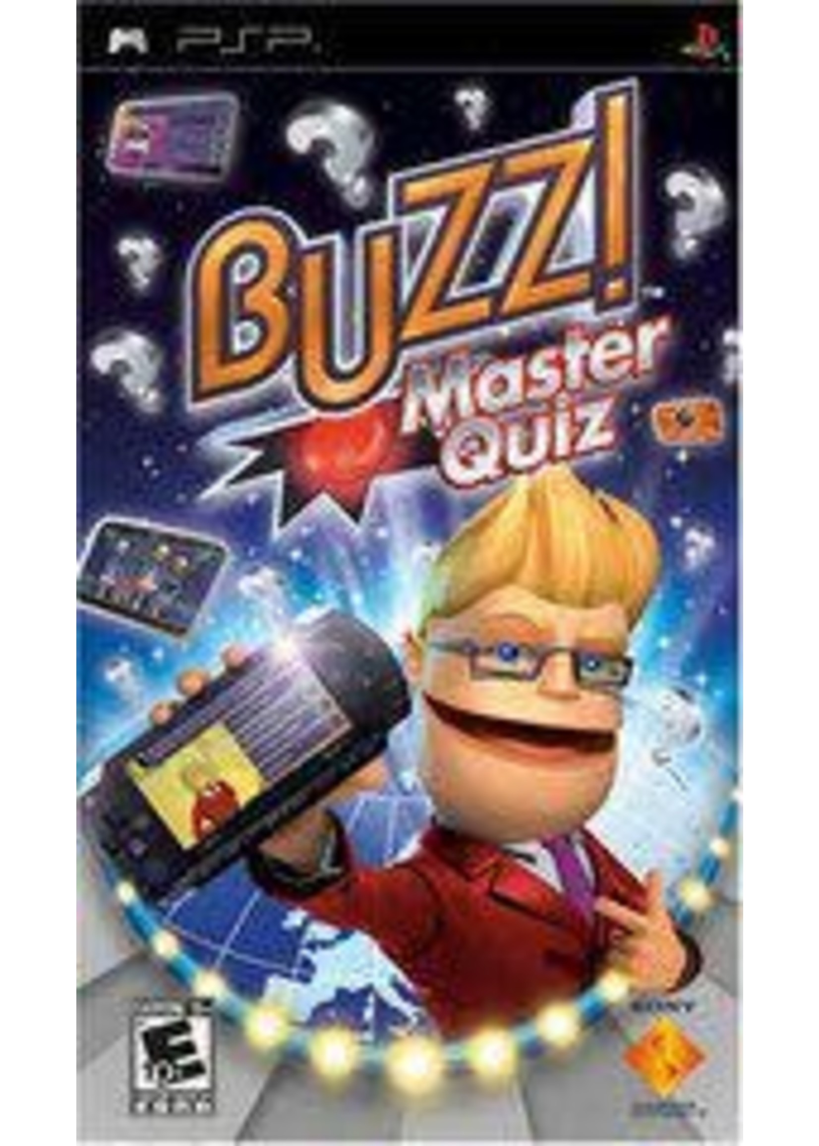 Buzz! Master Quiz PSP